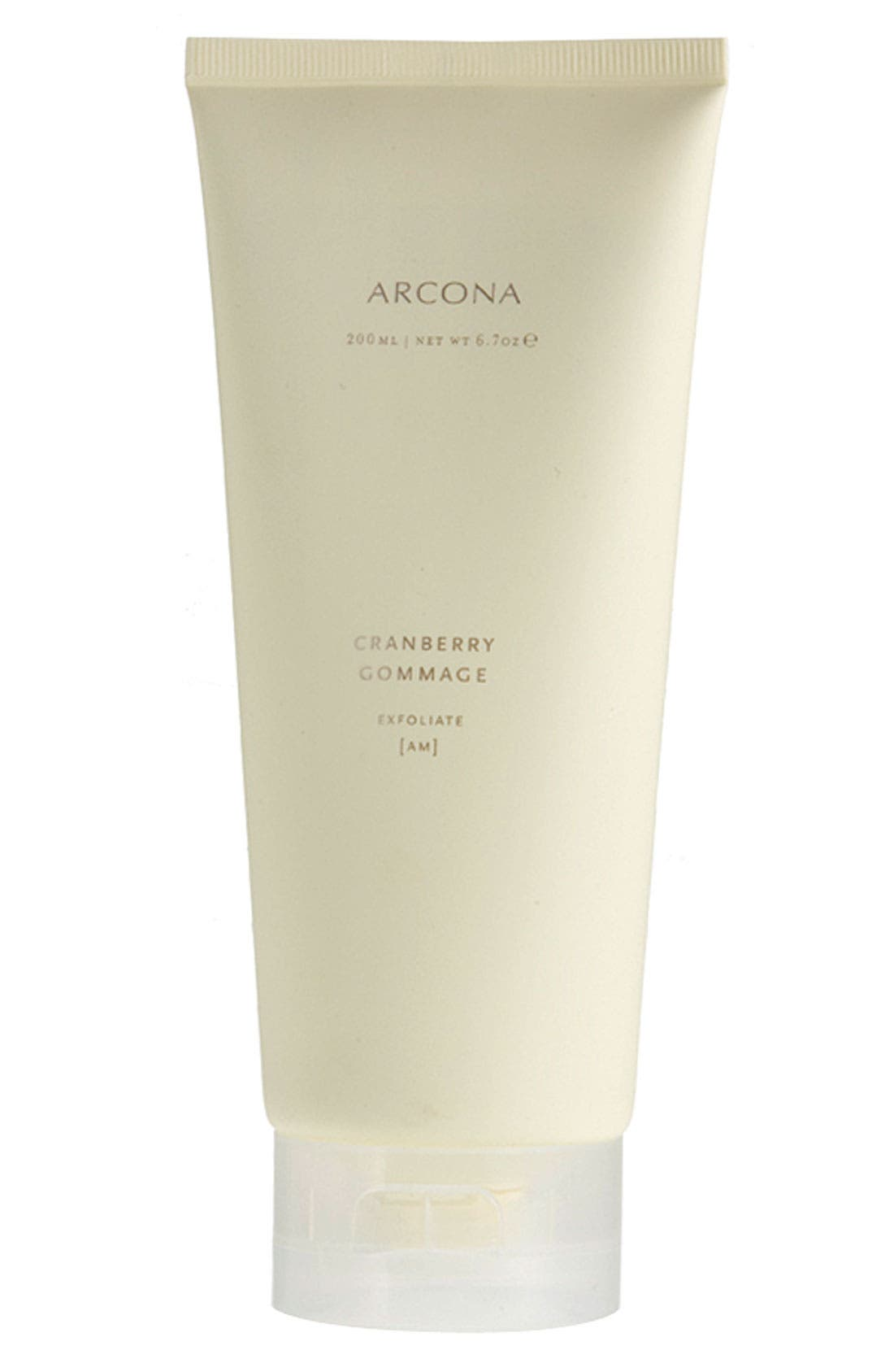 ARCONA Cranberry Gommage Exfoliant, Main, color, NO COLOR
