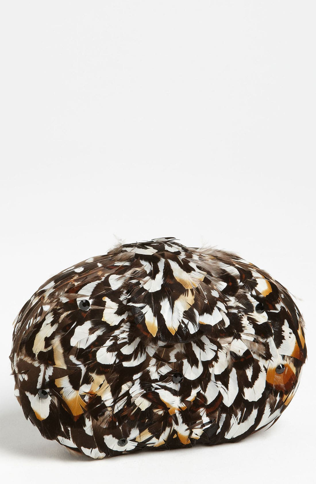 'Tweety' Feather Clutch,                         Main,                         color, 100