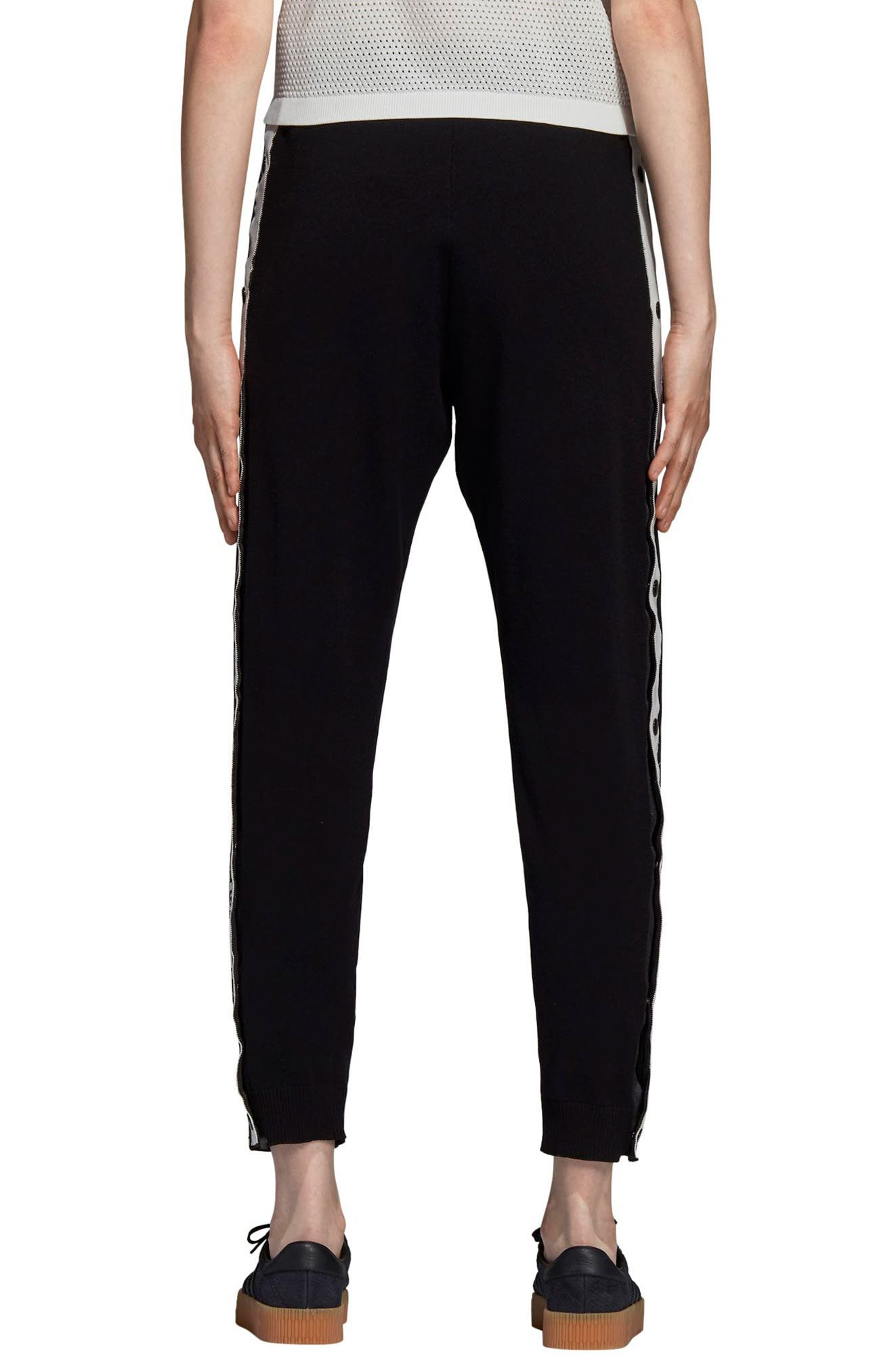 Adibreak Track Pants,                             Alternate thumbnail 2, color,                             BLACK