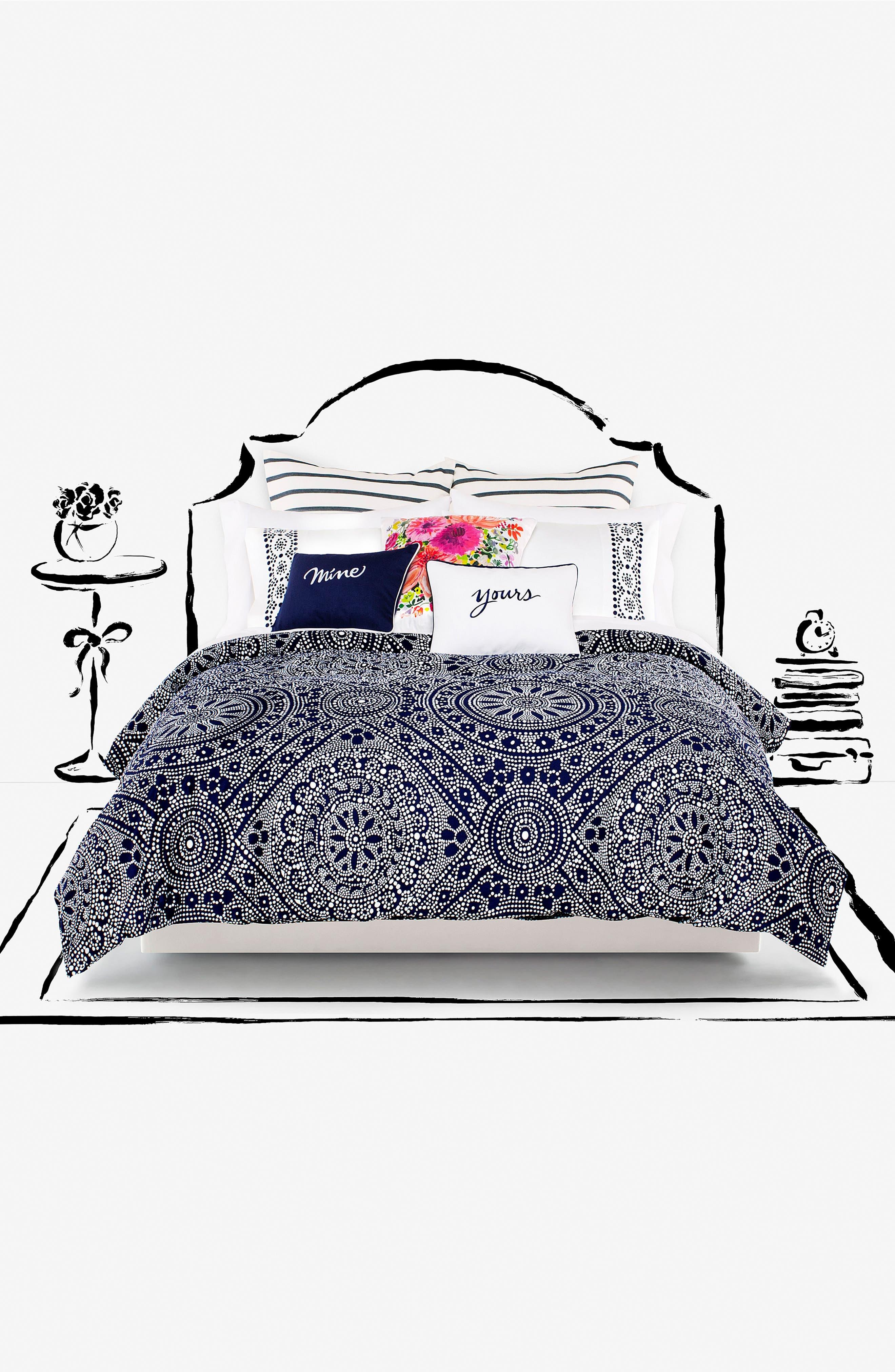 dahlia accent pillow,                             Alternate thumbnail 4, color,                             650