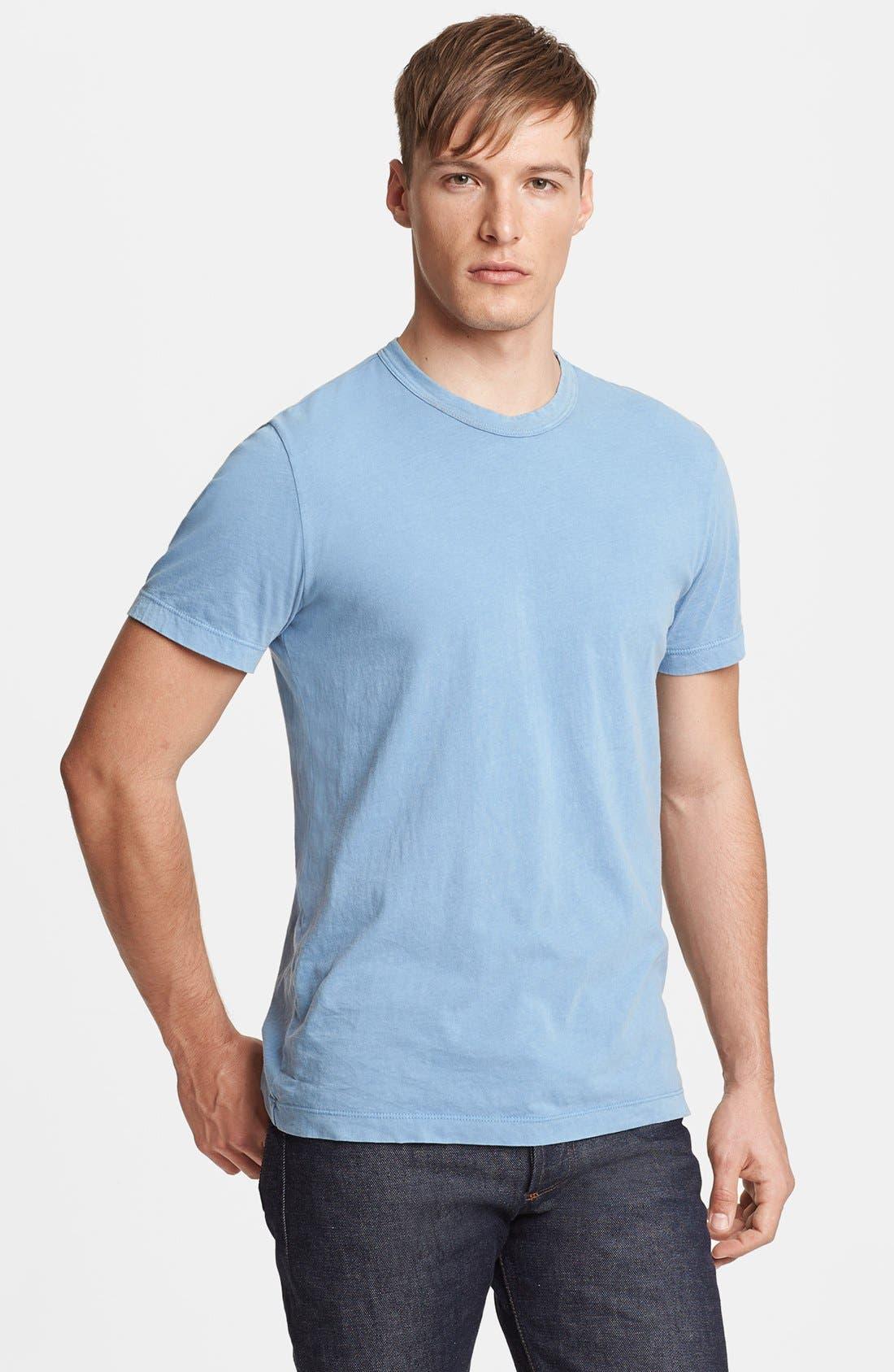 Crewneck Jersey T-Shirt,                             Main thumbnail 112, color,