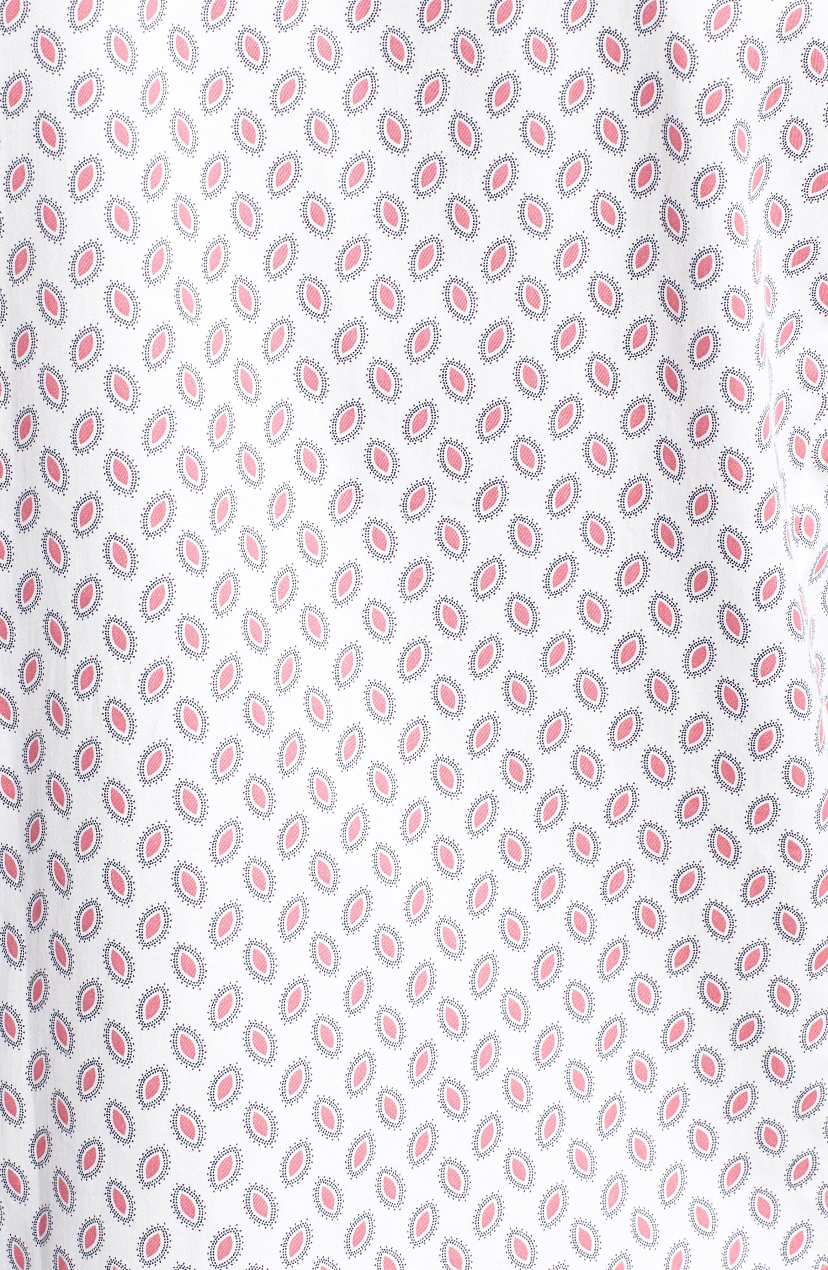 Newfone Trim Fit Chambray Sport Shirt,                             Alternate thumbnail 20, color,