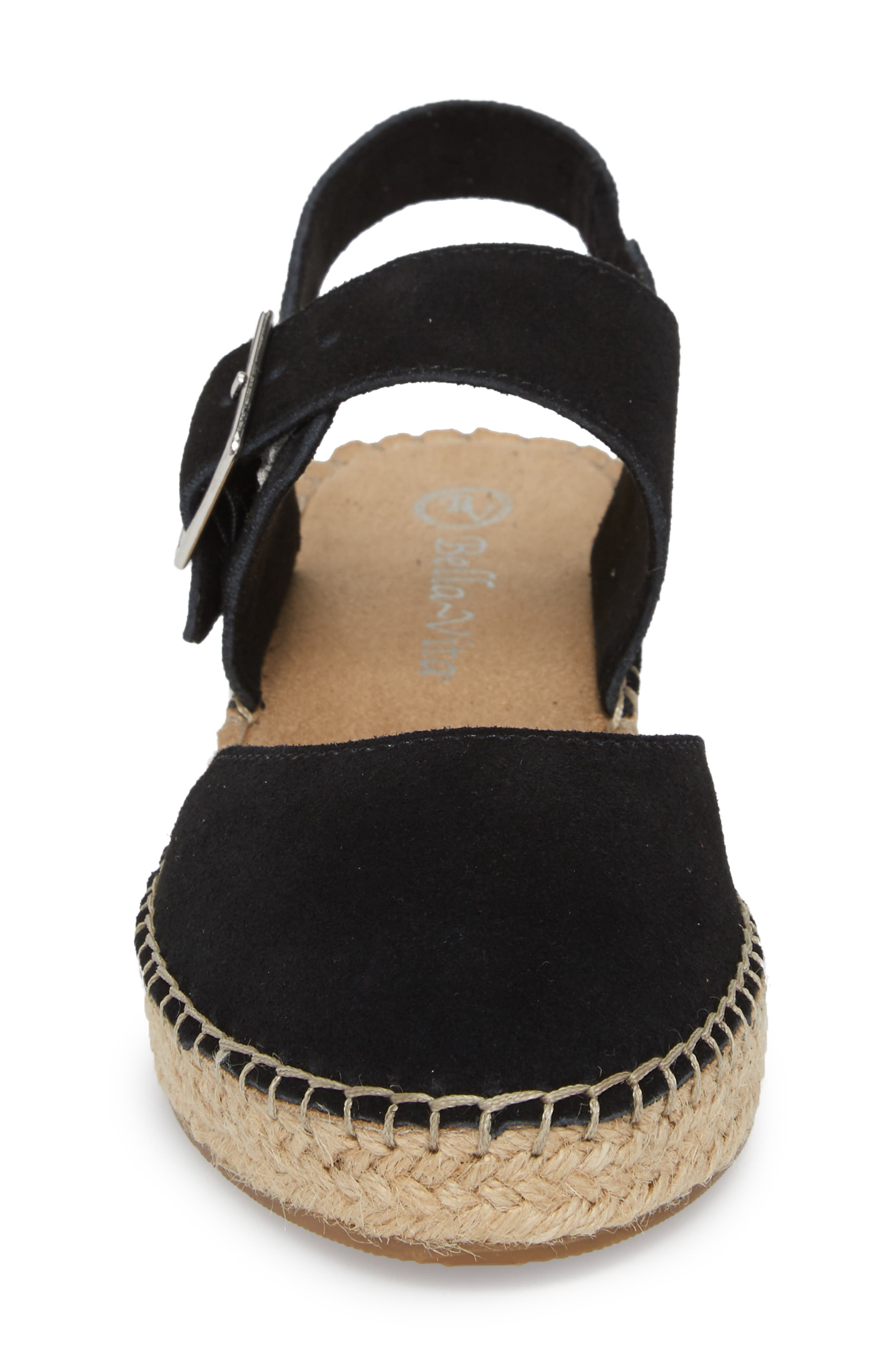 BELLA VITA,                             Caralynn Espadrille Sandal,                             Alternate thumbnail 4, color,                             018