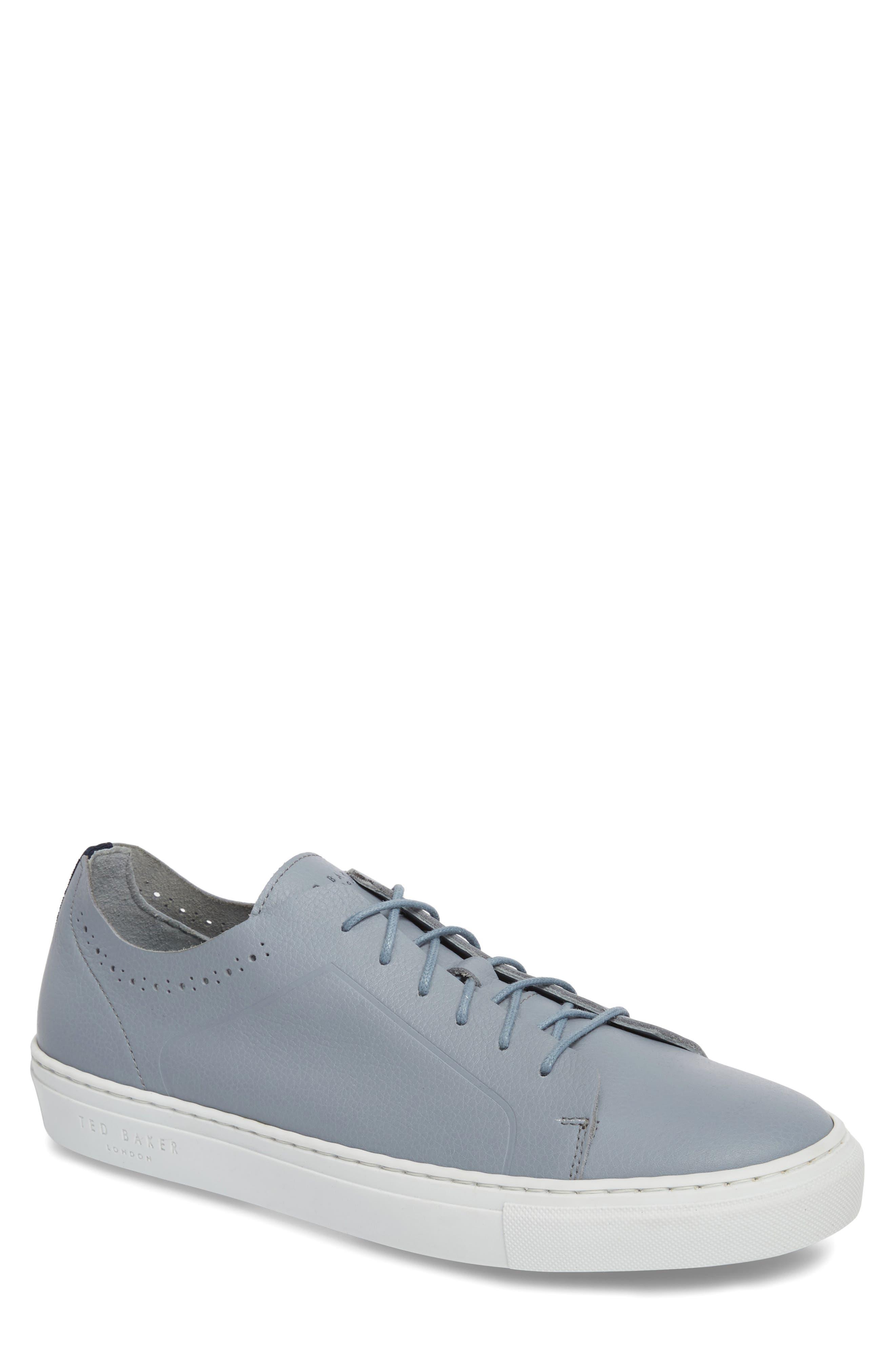 Ted Baker London Nowull Brogued Sneaker- Blue