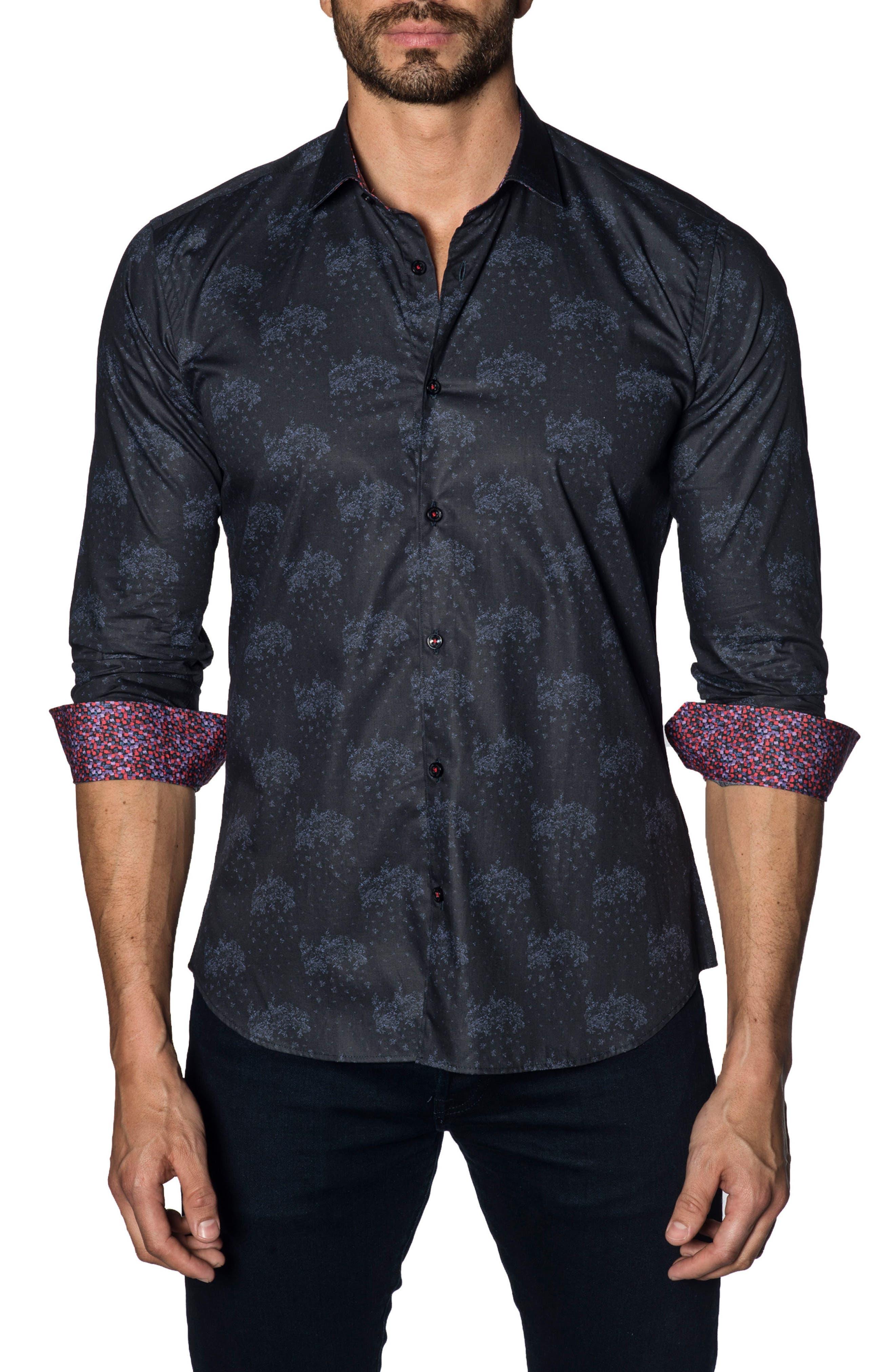 Trim Fit Sport Shirt,                         Main,                         color, 497