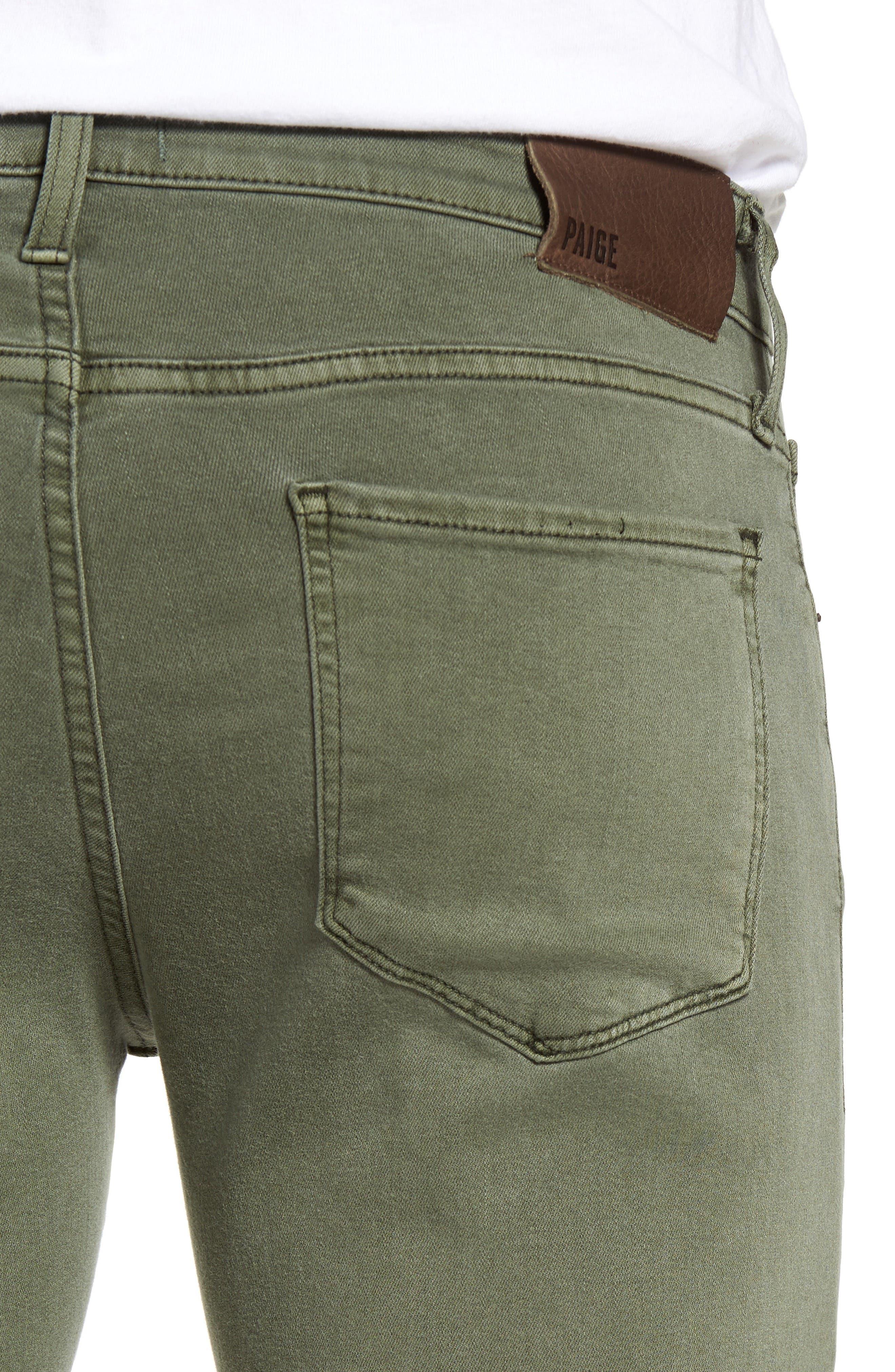Transcend - Federal Slim Straight Leg Jeans,                             Alternate thumbnail 4, color,