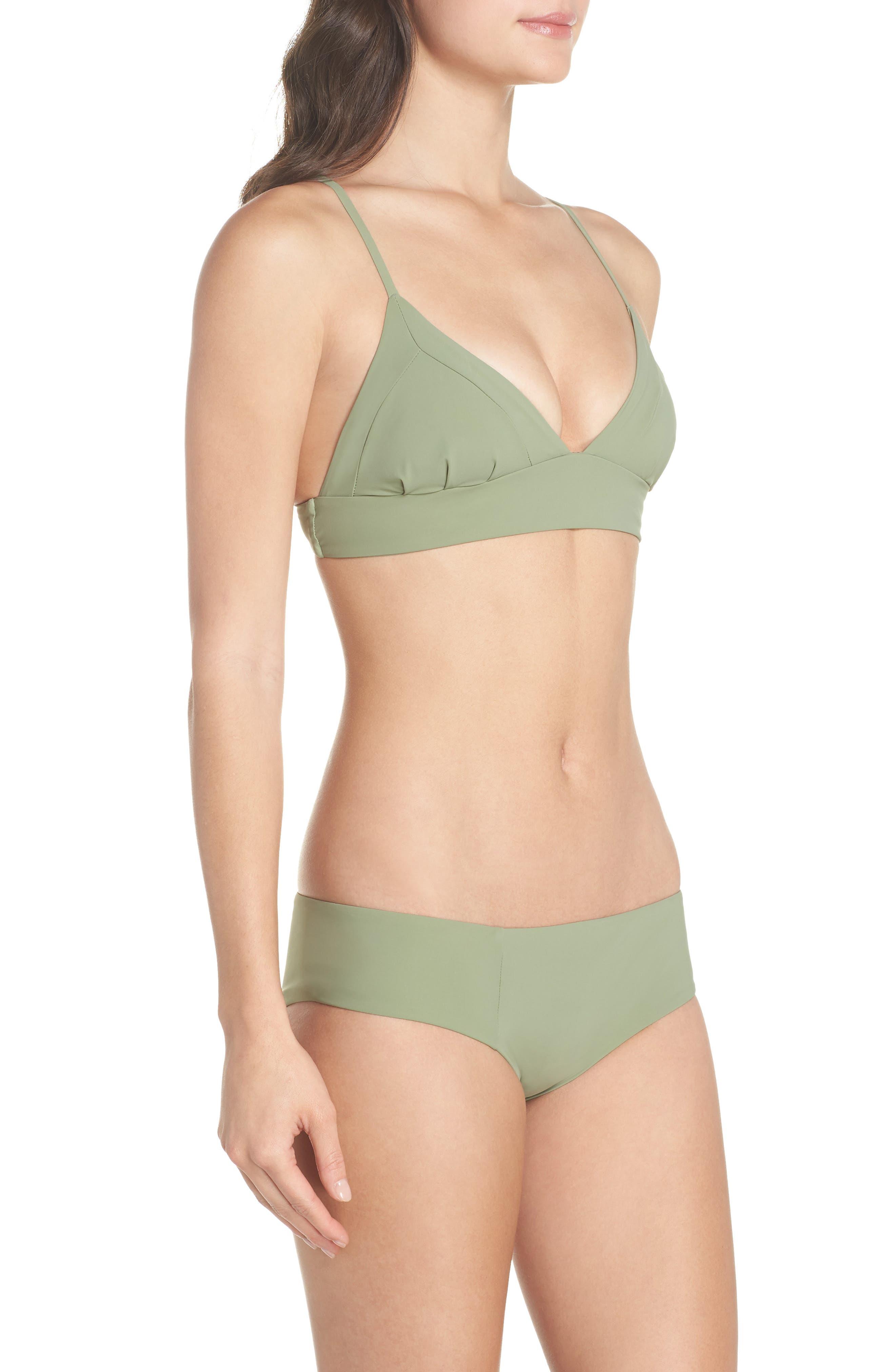 Dana the Delinquent Bikini Top,                             Alternate thumbnail 9, color,                             SAGE