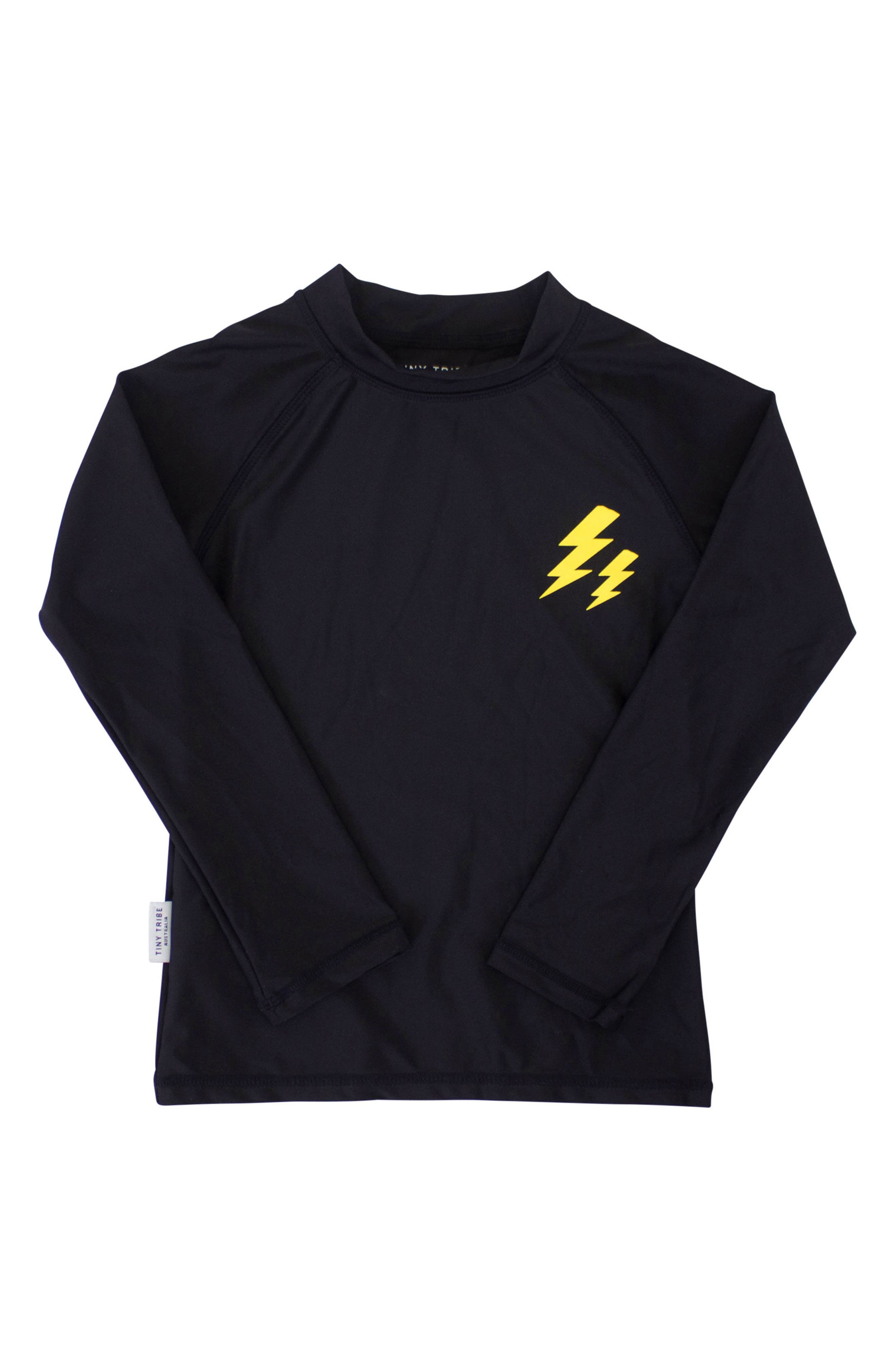 Electric Rashguard Top,                             Main thumbnail 1, color,                             001