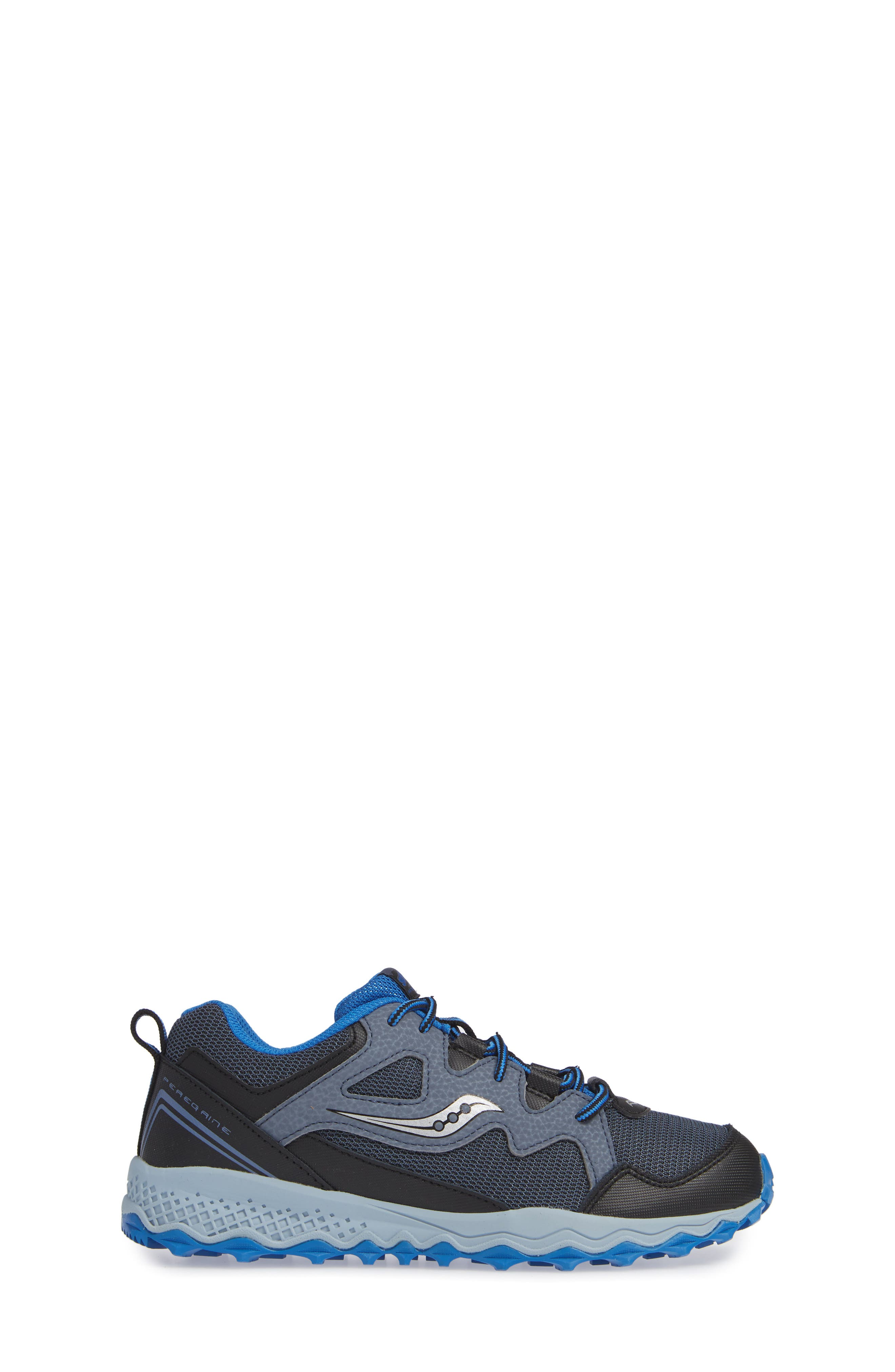 Peregrine Shield 2 Water Repellent Sneaker,                             Alternate thumbnail 3, color,                             GREY LEATHER/ MESH