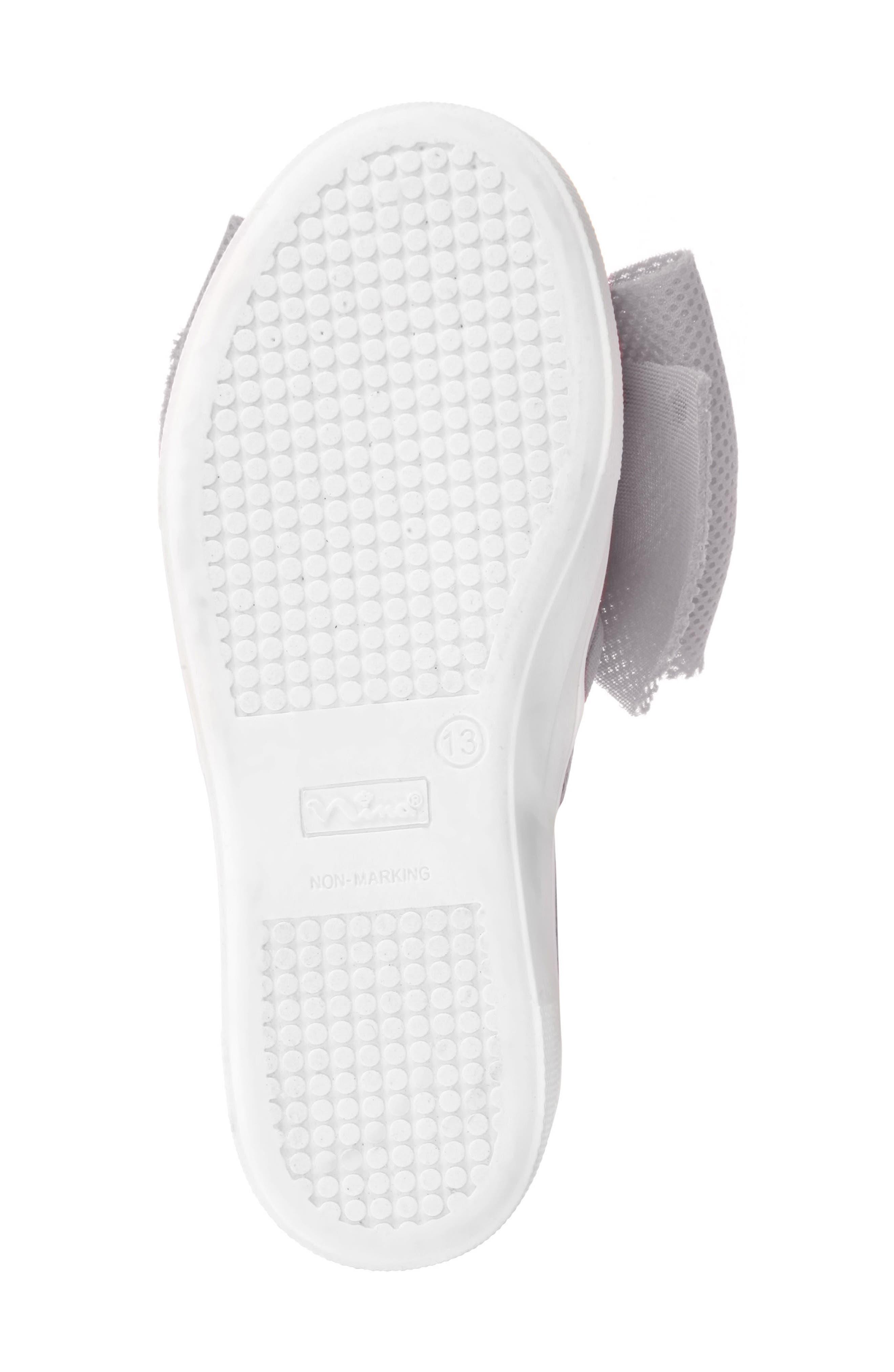 Mary Bow Slip-On Sneaker,                             Alternate thumbnail 6, color,                             040