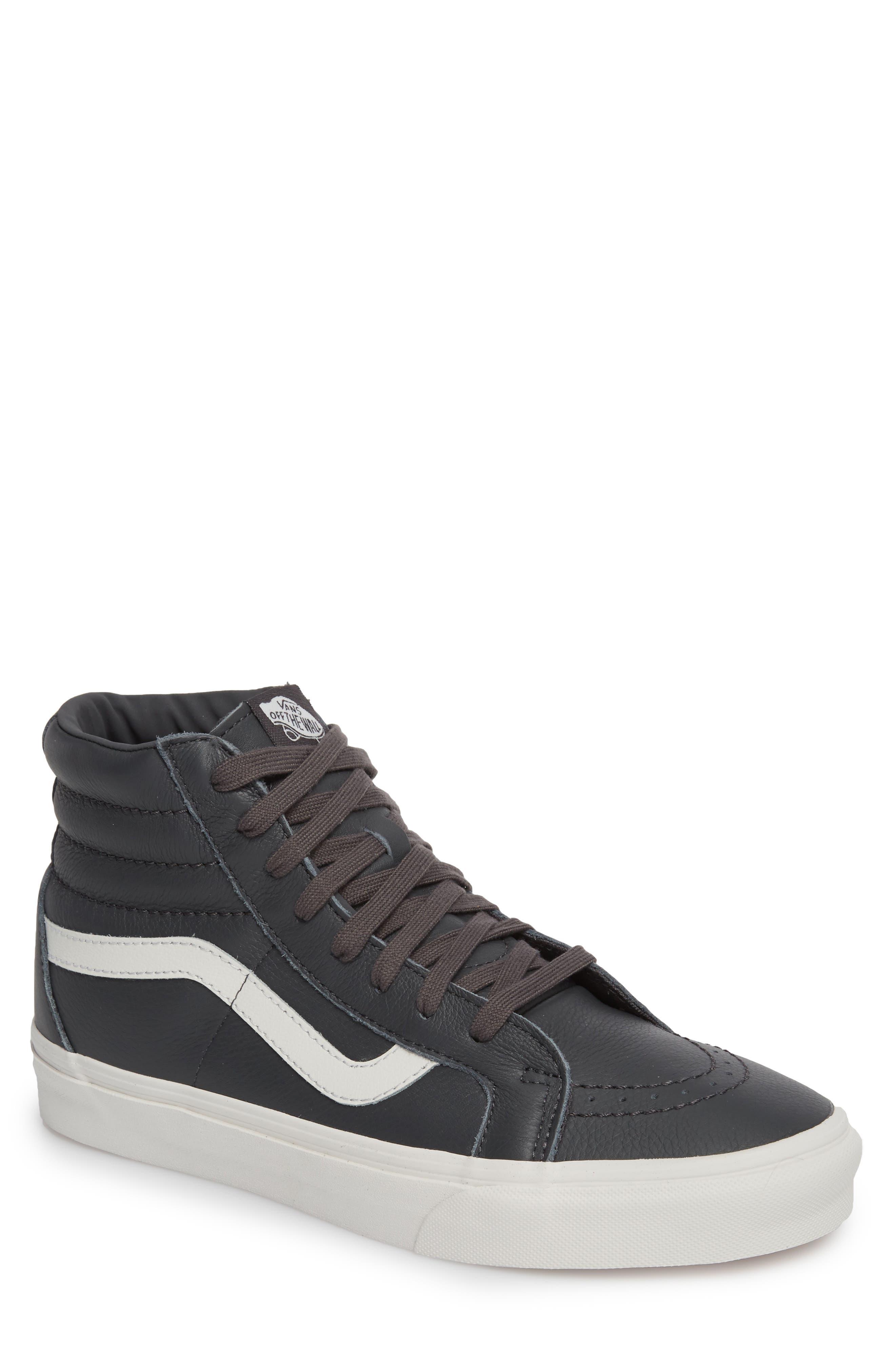 Sk8-Hi Reissue Leather Sneaker,                             Main thumbnail 1, color,                             020