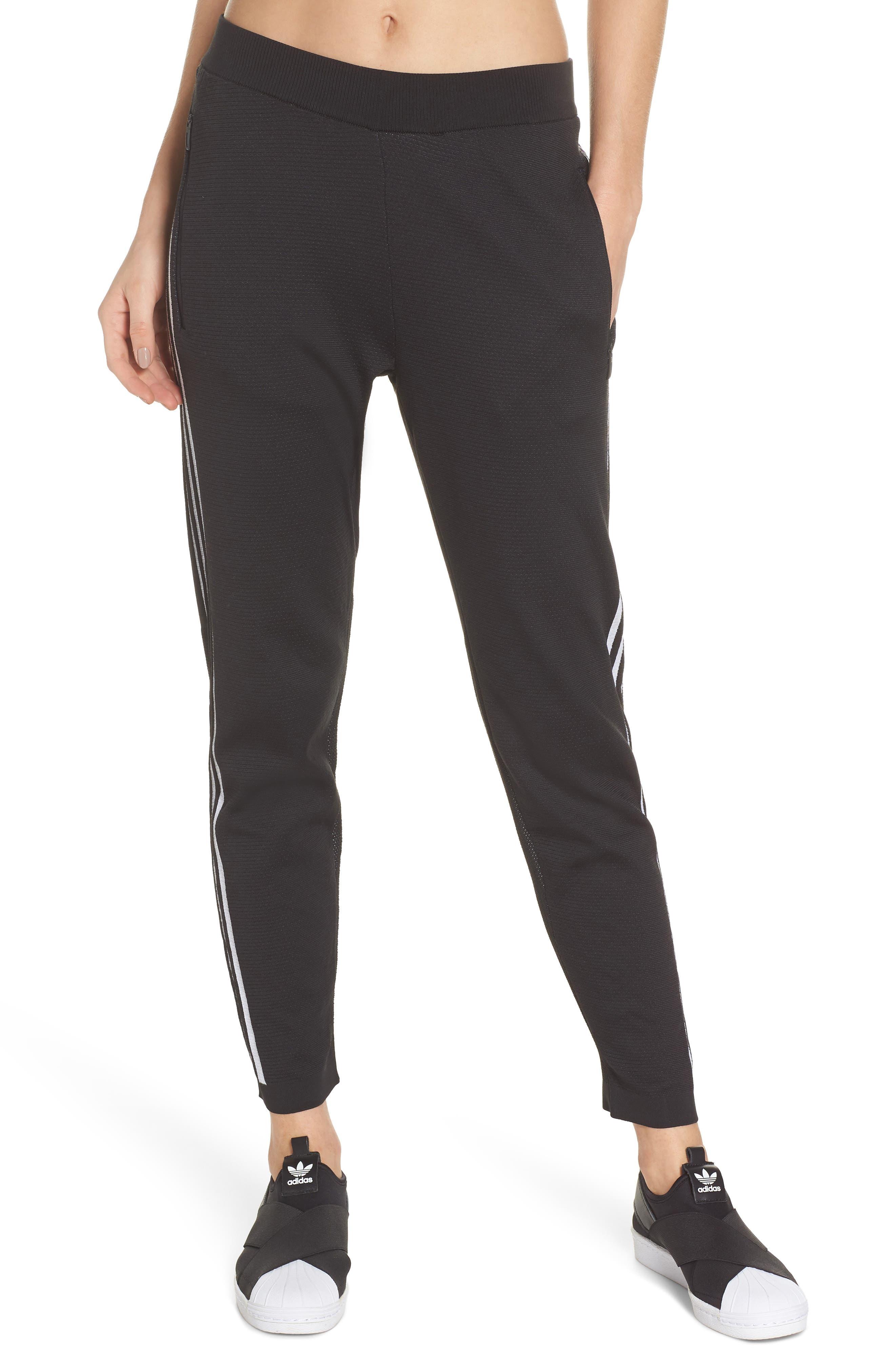 ID Striker Knit Pants,                             Main thumbnail 1, color,                             BLACK