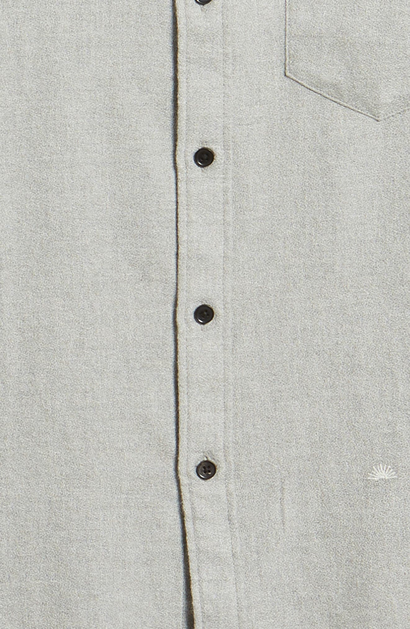 Levi's<sup>®</sup> Made & Crafted Regular Fit Mélange Shirt,                             Alternate thumbnail 6, color,                             020