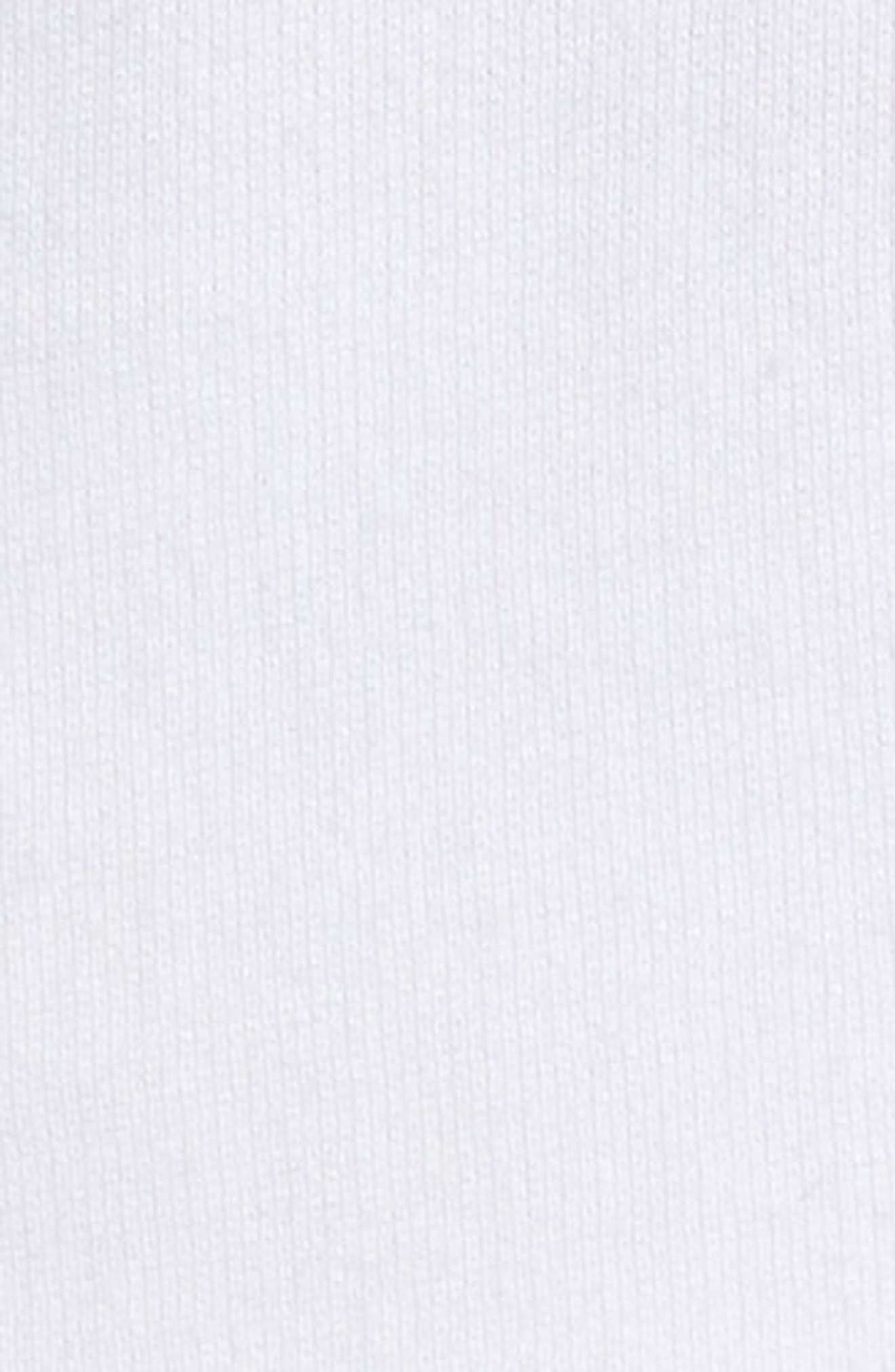 Stance Bell Sleeve Crop Hoodie,                             Alternate thumbnail 6, color,                             WHITE