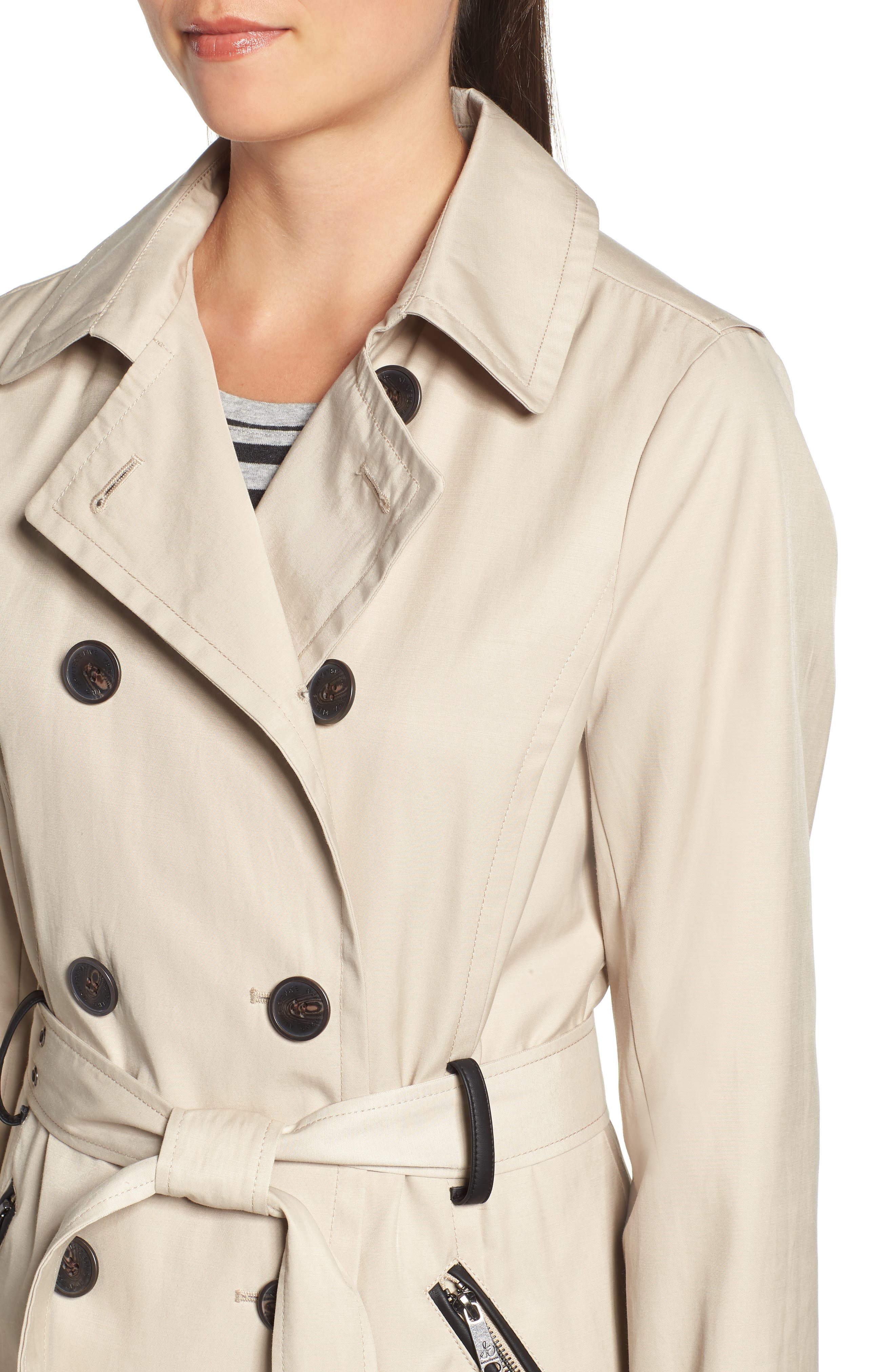 Packable Trench Coat,                             Alternate thumbnail 4, color,                             252