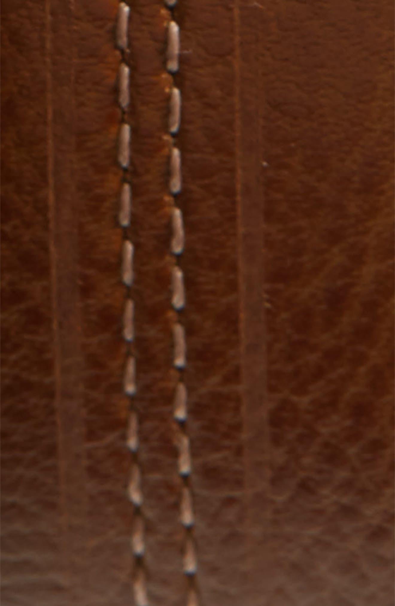 Aggra Leather Belt,                             Alternate thumbnail 2, color,                             TAN