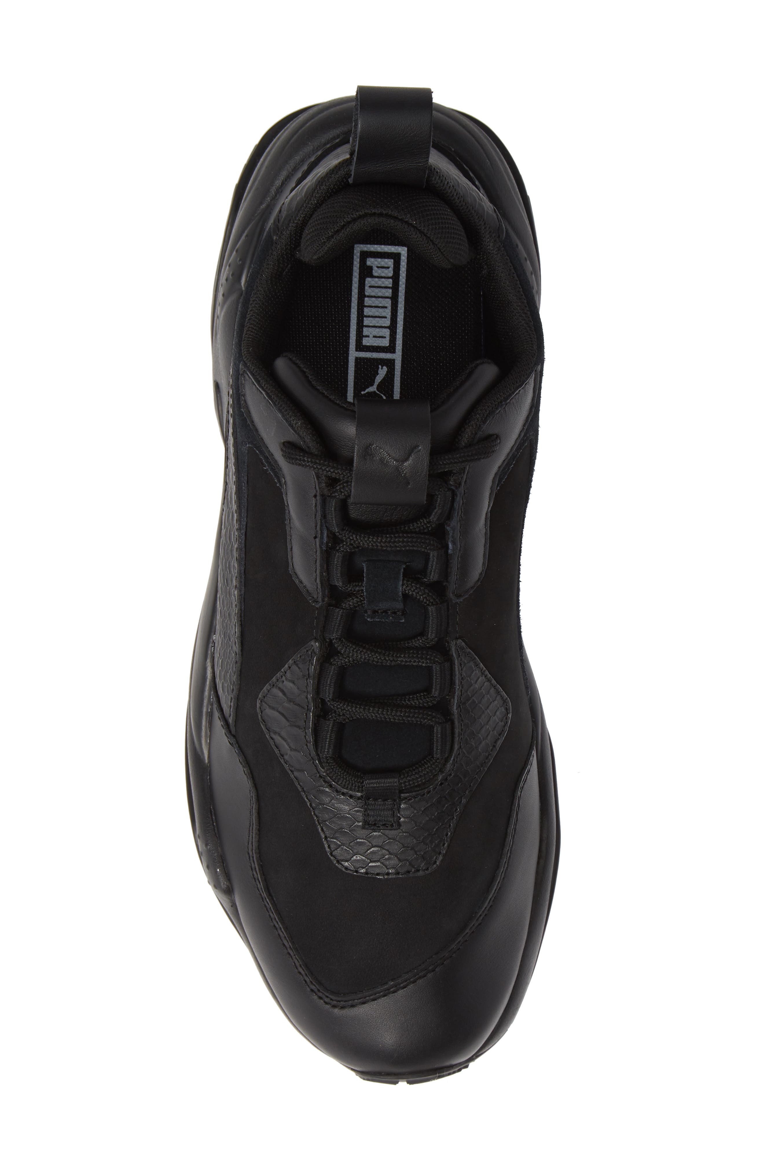 Thunder Desert Sneaker,                             Alternate thumbnail 5, color,                             BLACK/ BLACK