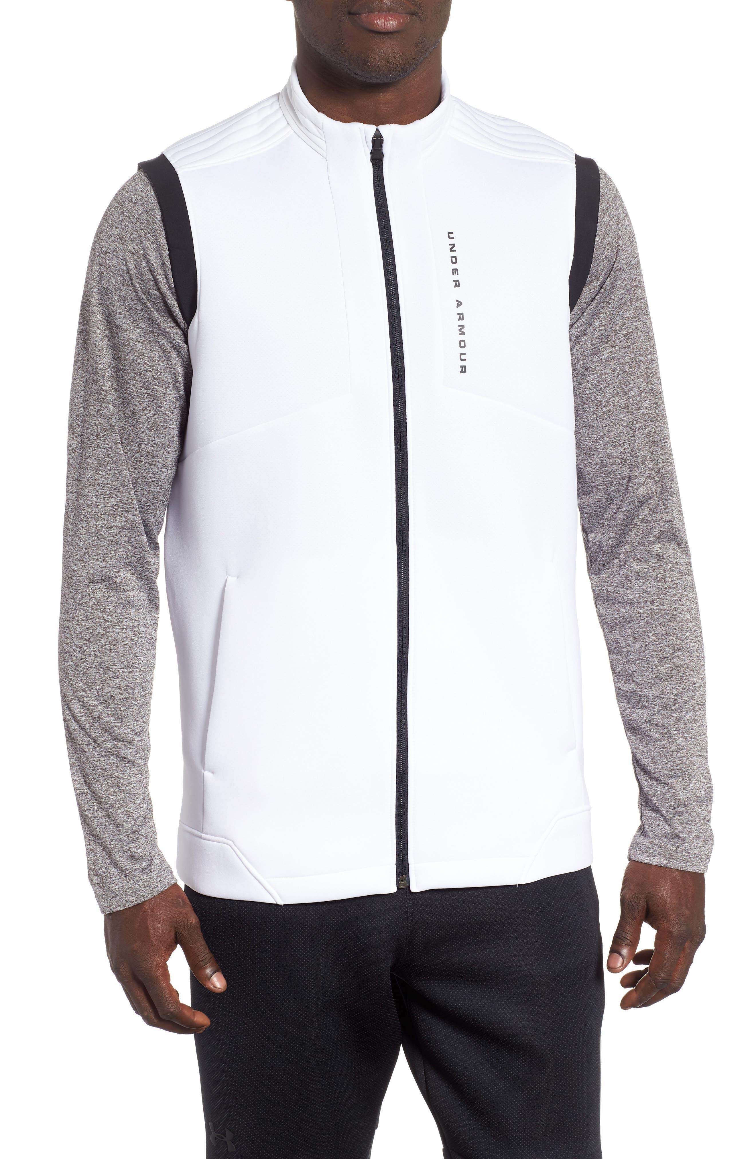 Storm Daytona Vest,                         Main,                         color, WHITE/ BLACK/ BLACK