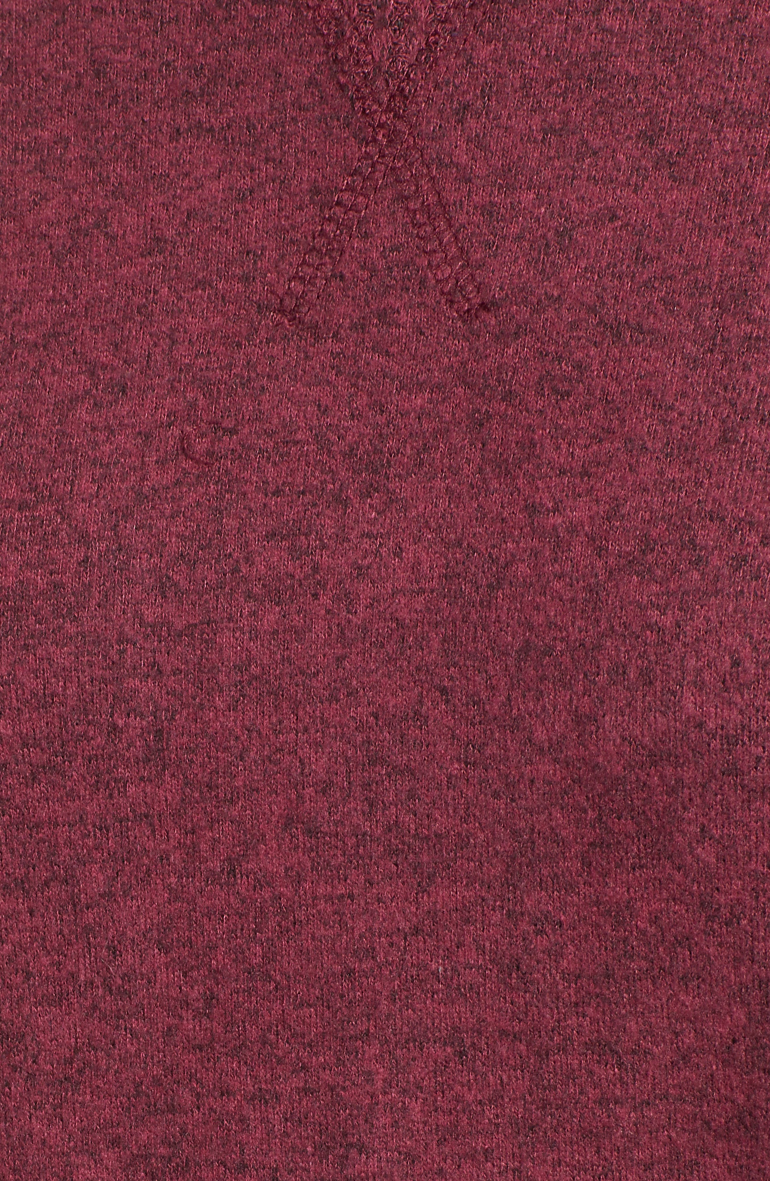 Head Start Sweatshirt,                             Alternate thumbnail 5, color,                             CRANBERRY