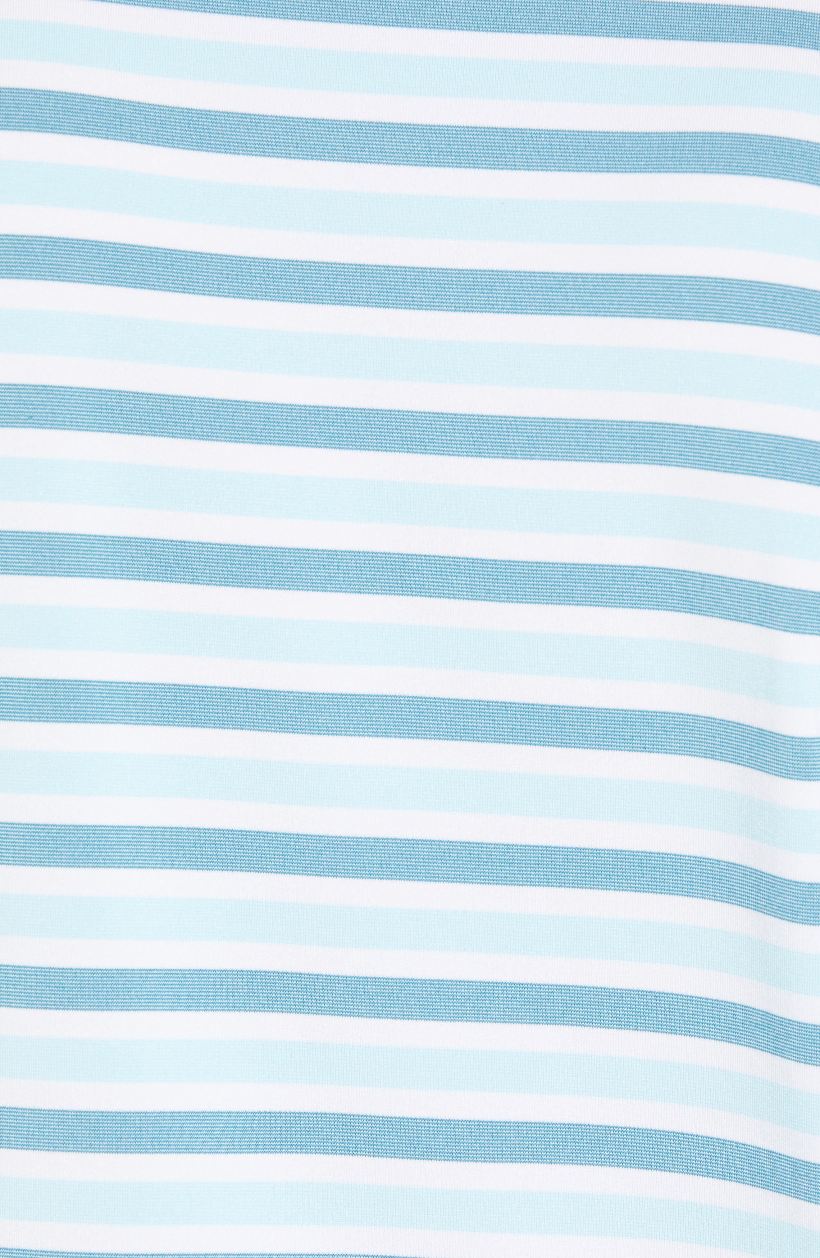 Murray Stripe DryTec Polo,                             Alternate thumbnail 5, color,                             AQUATIC