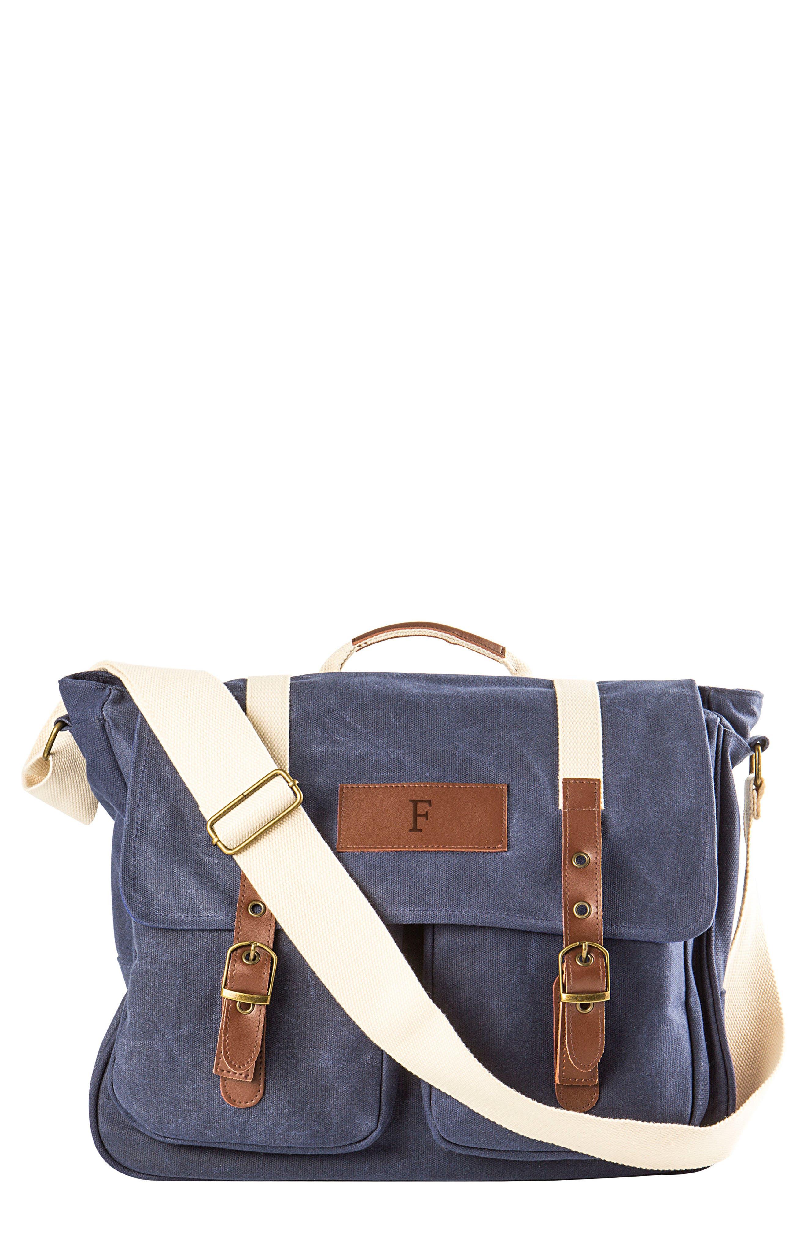 Monogram Messenger Bag,                         Main,                         color, NAVY-F