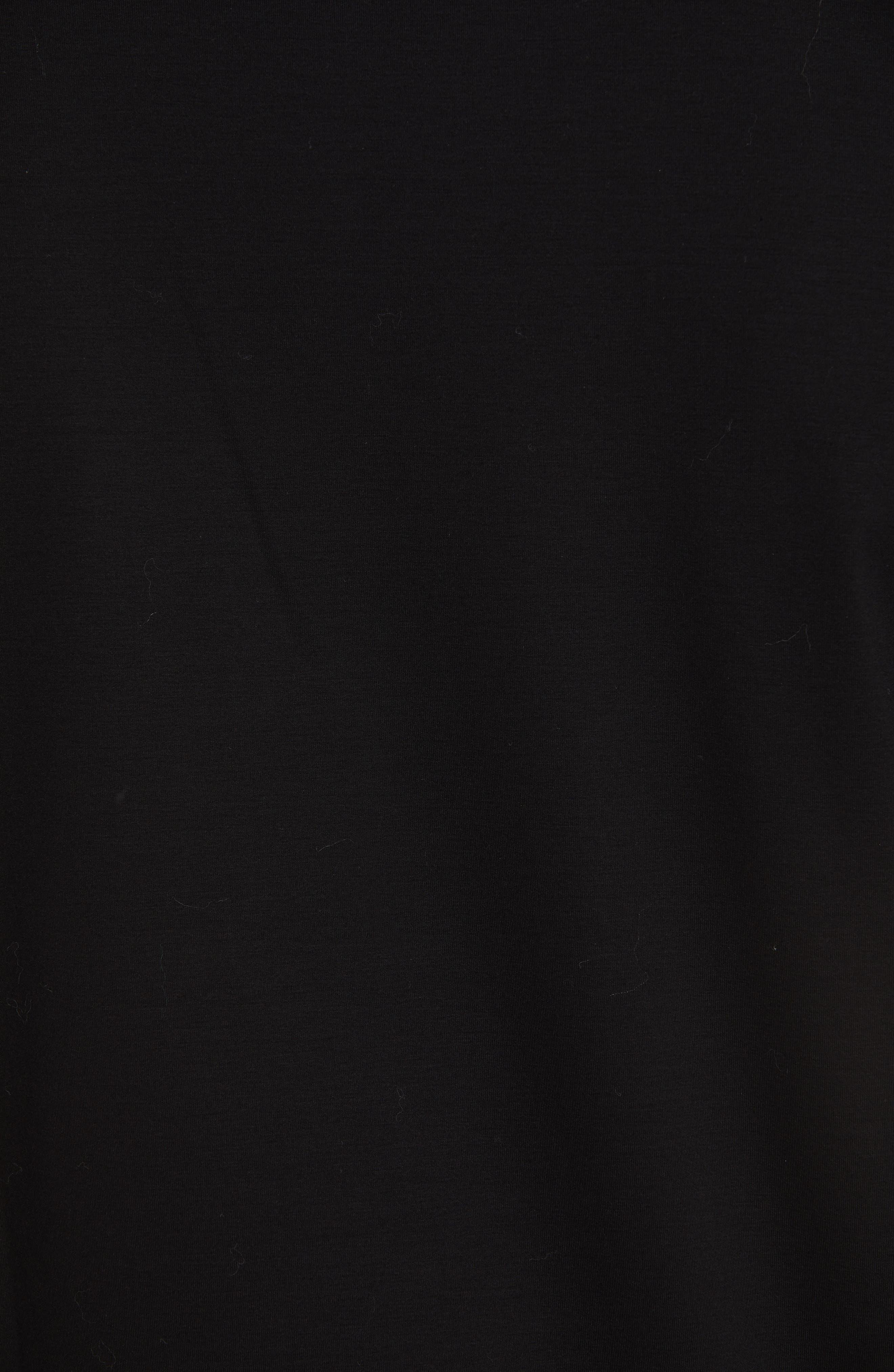 VERSACE,                             Beaded Medusa T-Shirt,                             Alternate thumbnail 5, color,                             BLACK