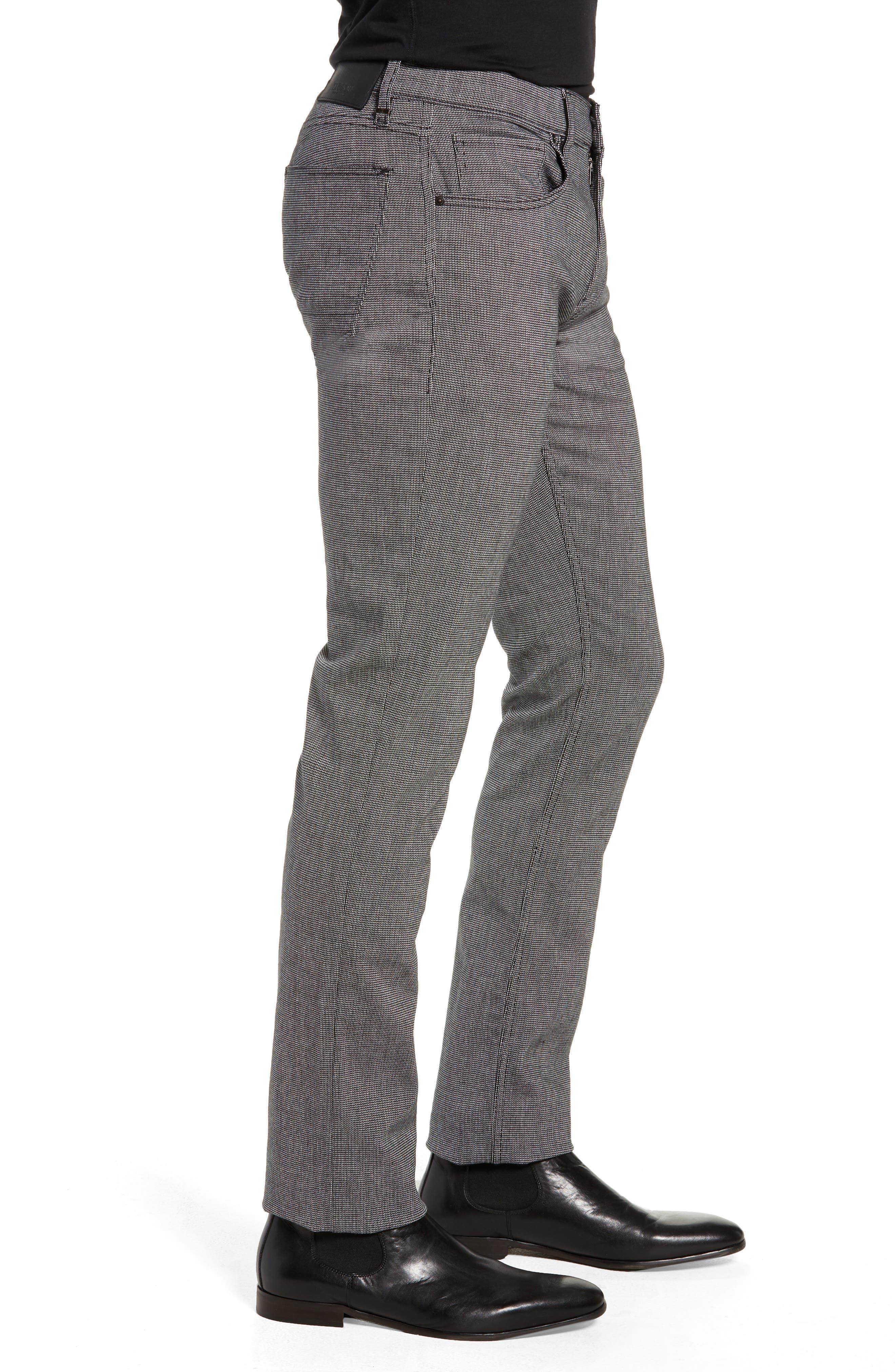 Blake Slim Fit Pants,                             Alternate thumbnail 3, color,                             BLACK WILLOW