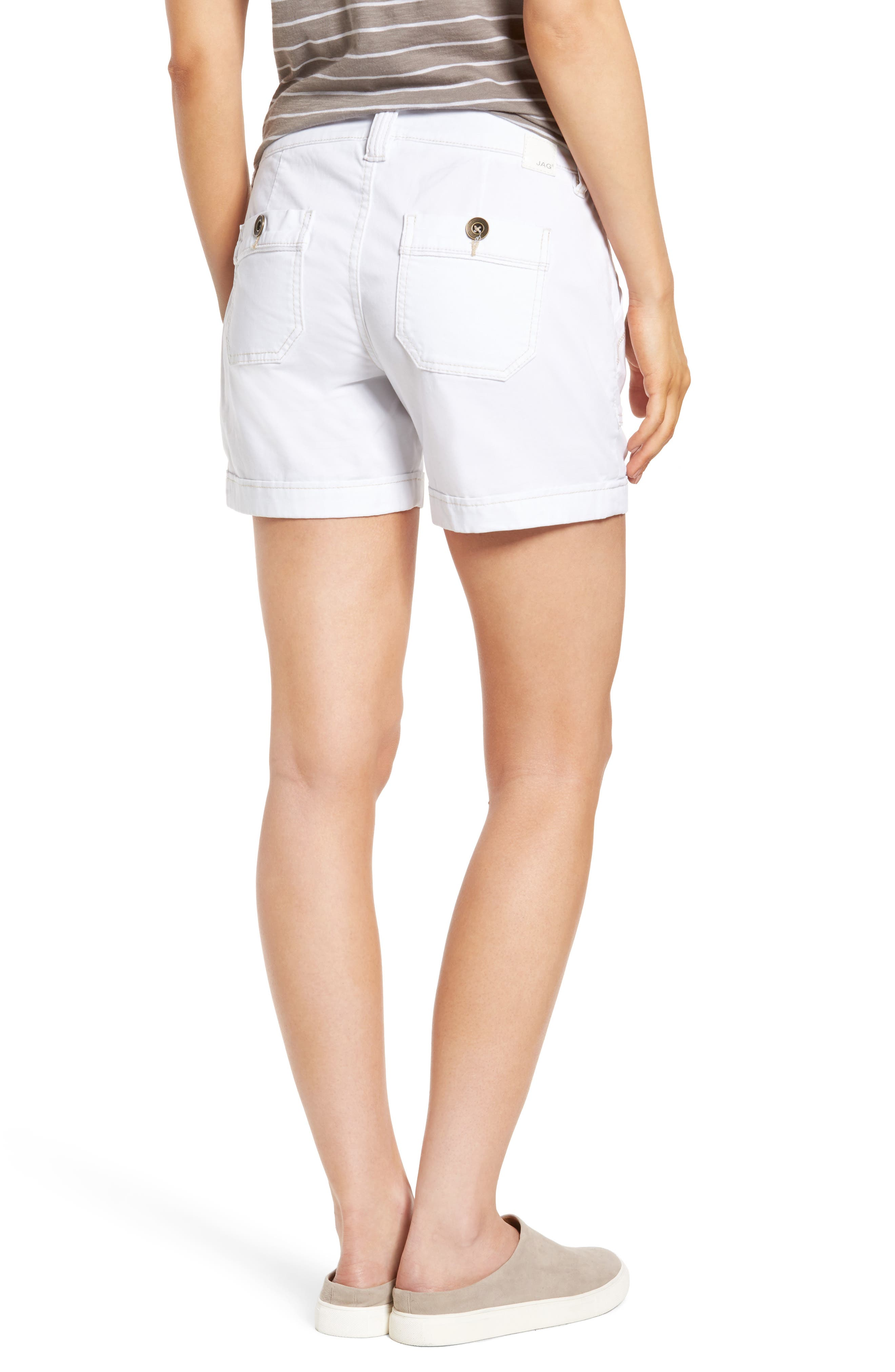 Izzy Twill Utility Shorts,                             Alternate thumbnail 2, color,                             168