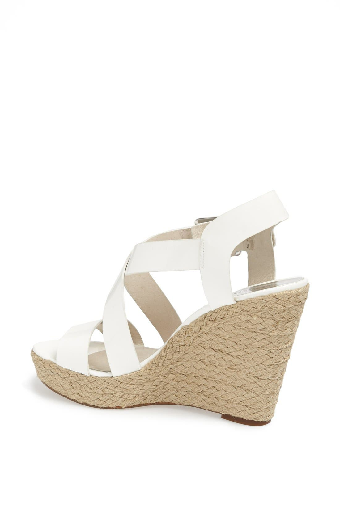 'Giovanna' Wedge Sandal,                             Alternate thumbnail 4, color,                             101