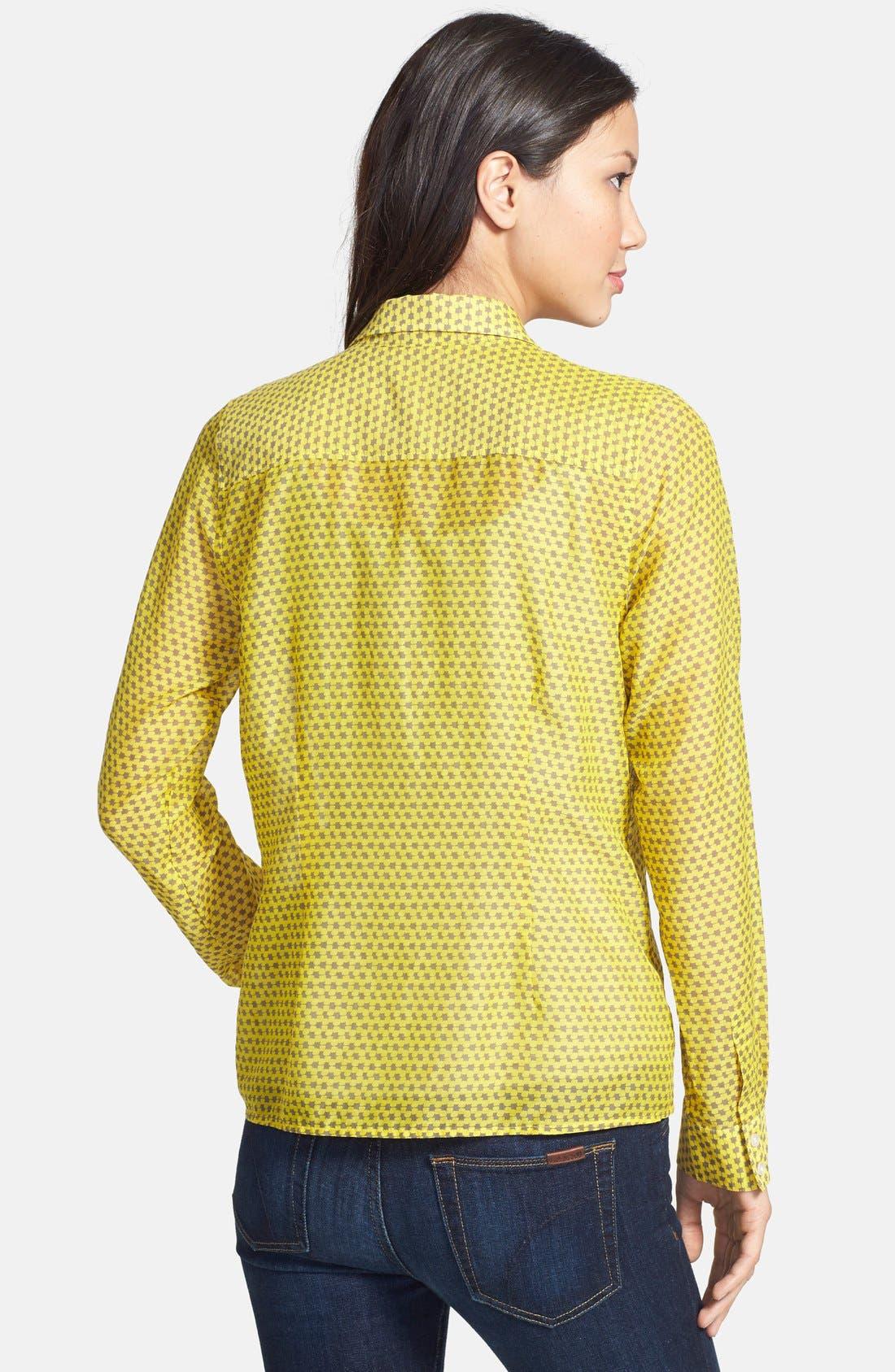 Cotton & Silk Shirt,                             Alternate thumbnail 97, color,