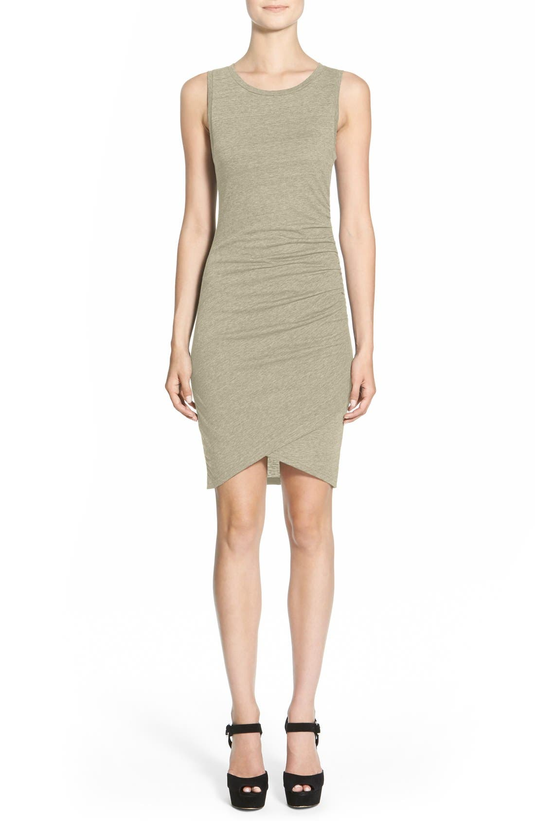 Ruched Body-Con Tank Dress,                             Main thumbnail 28, color,