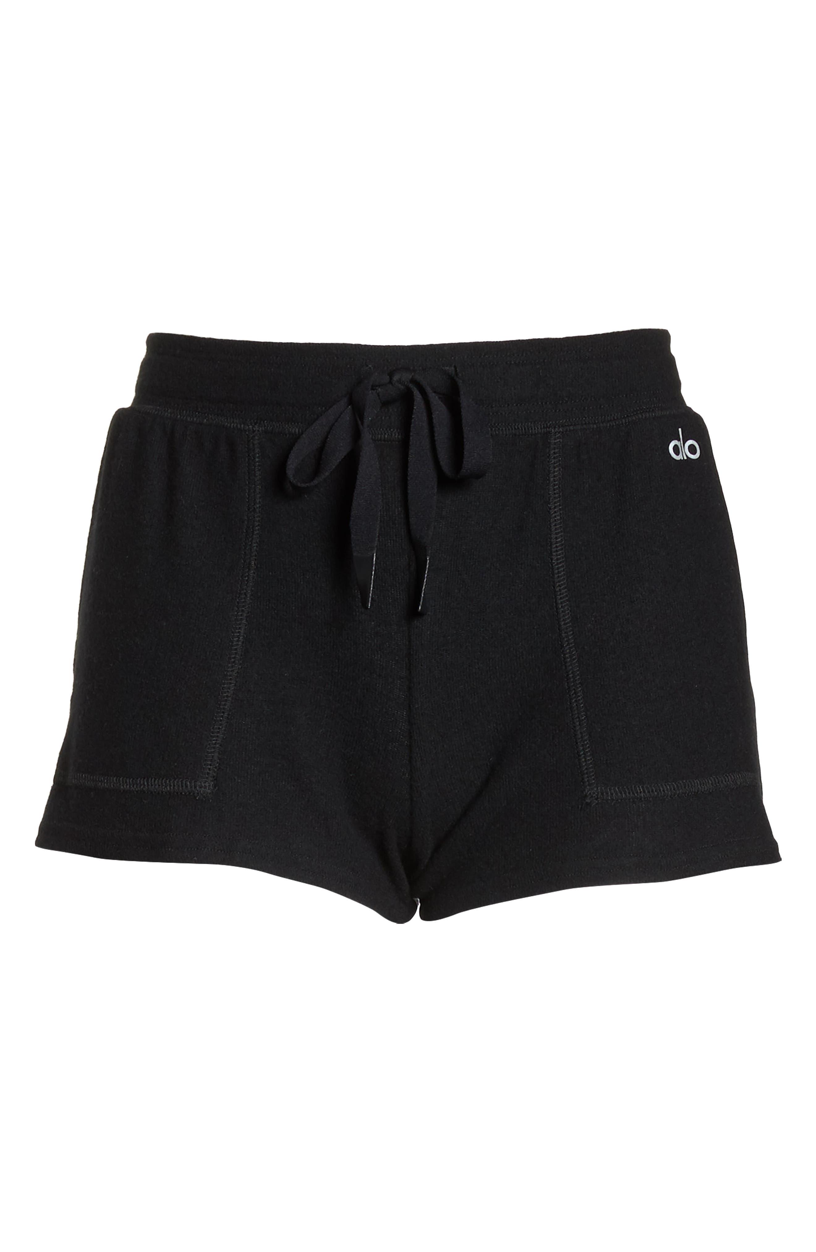 Daze Shorts,                             Alternate thumbnail 7, color,                             BLACK