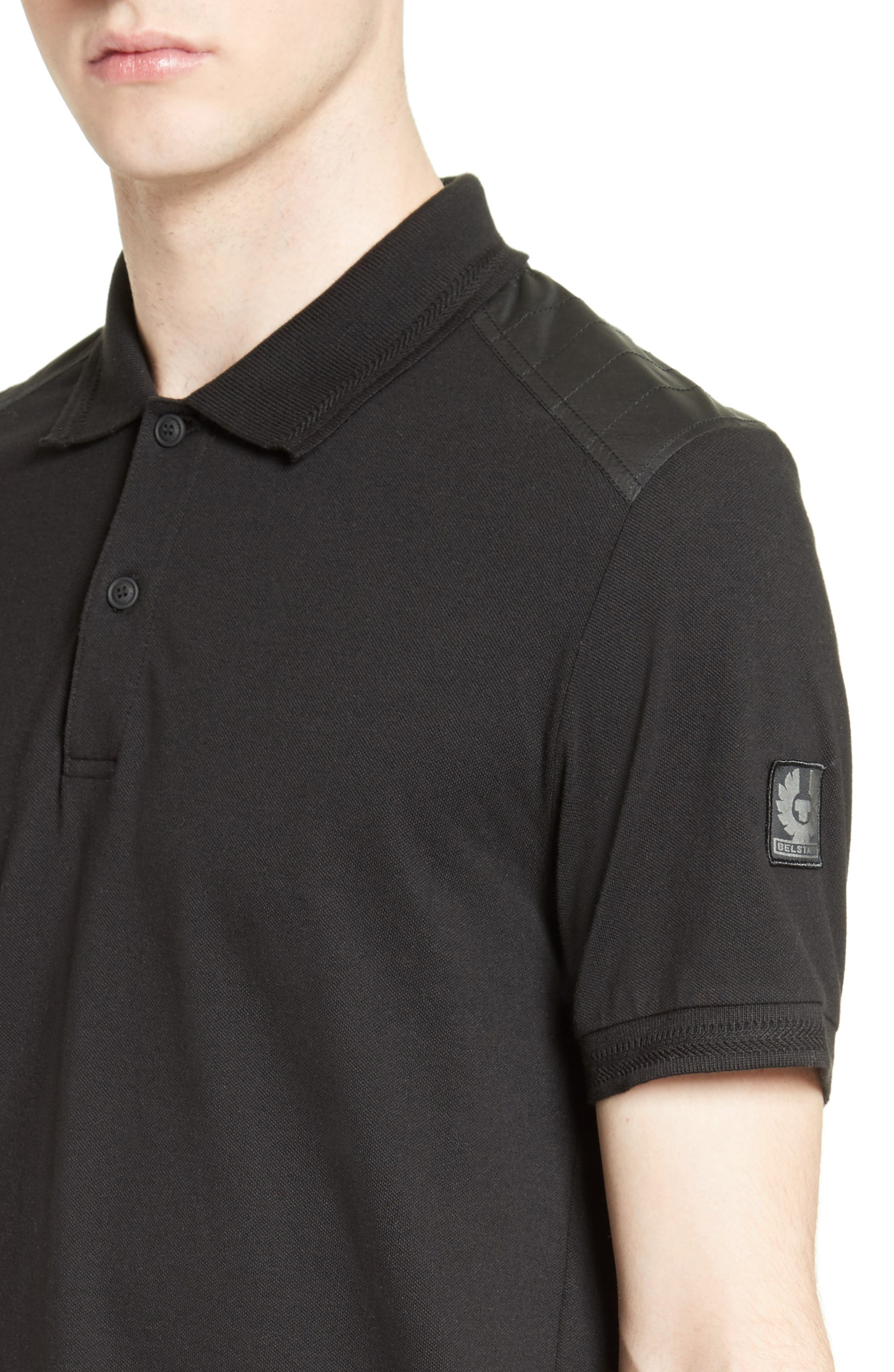 HItchin Extra Trim Fit Piqué Polo,                             Alternate thumbnail 15, color,