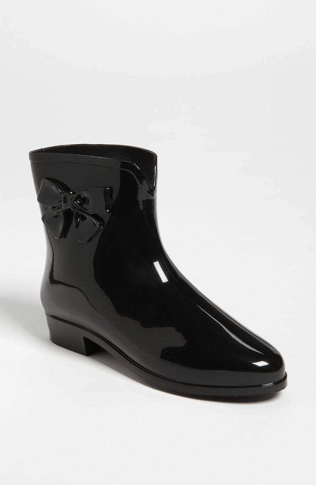 Ankle Rain Boot,                             Main thumbnail 1, color,                             001