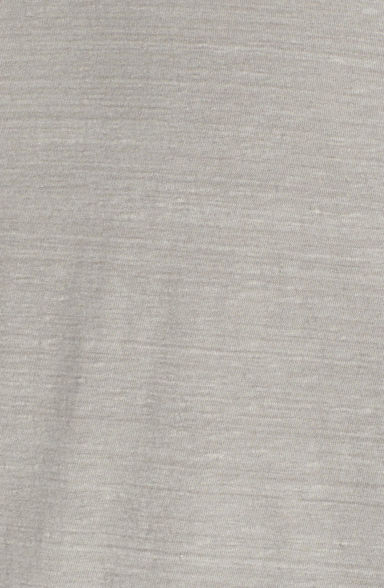 Regular Fit Slub Crewneck T-Shirt,                             Alternate thumbnail 5, color,                             056
