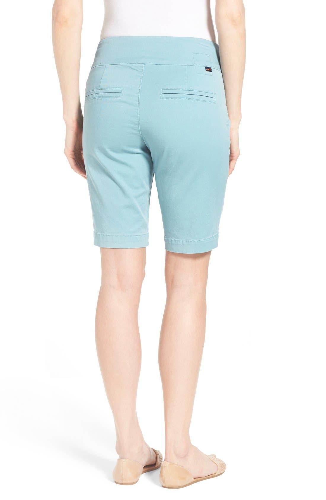'Ainsley' Slim Bermuda Shorts,                             Alternate thumbnail 36, color,