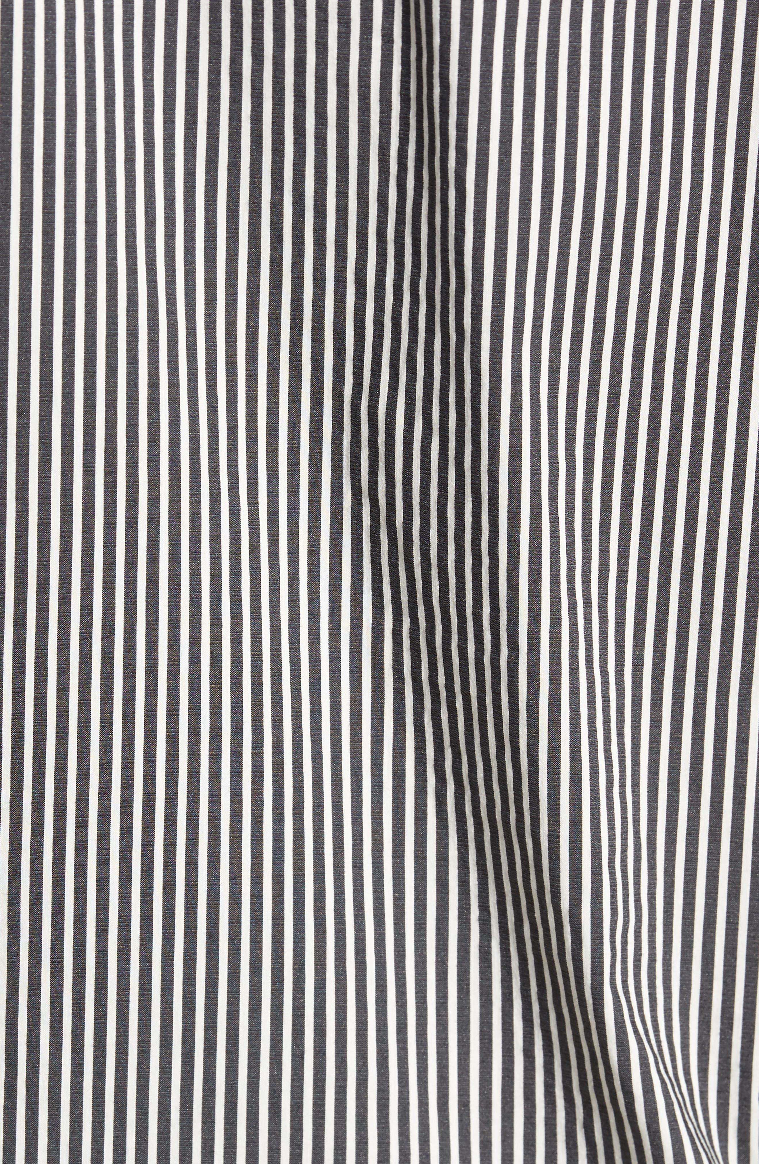 Bar Stripe Sport Shirt,                             Alternate thumbnail 5, color,