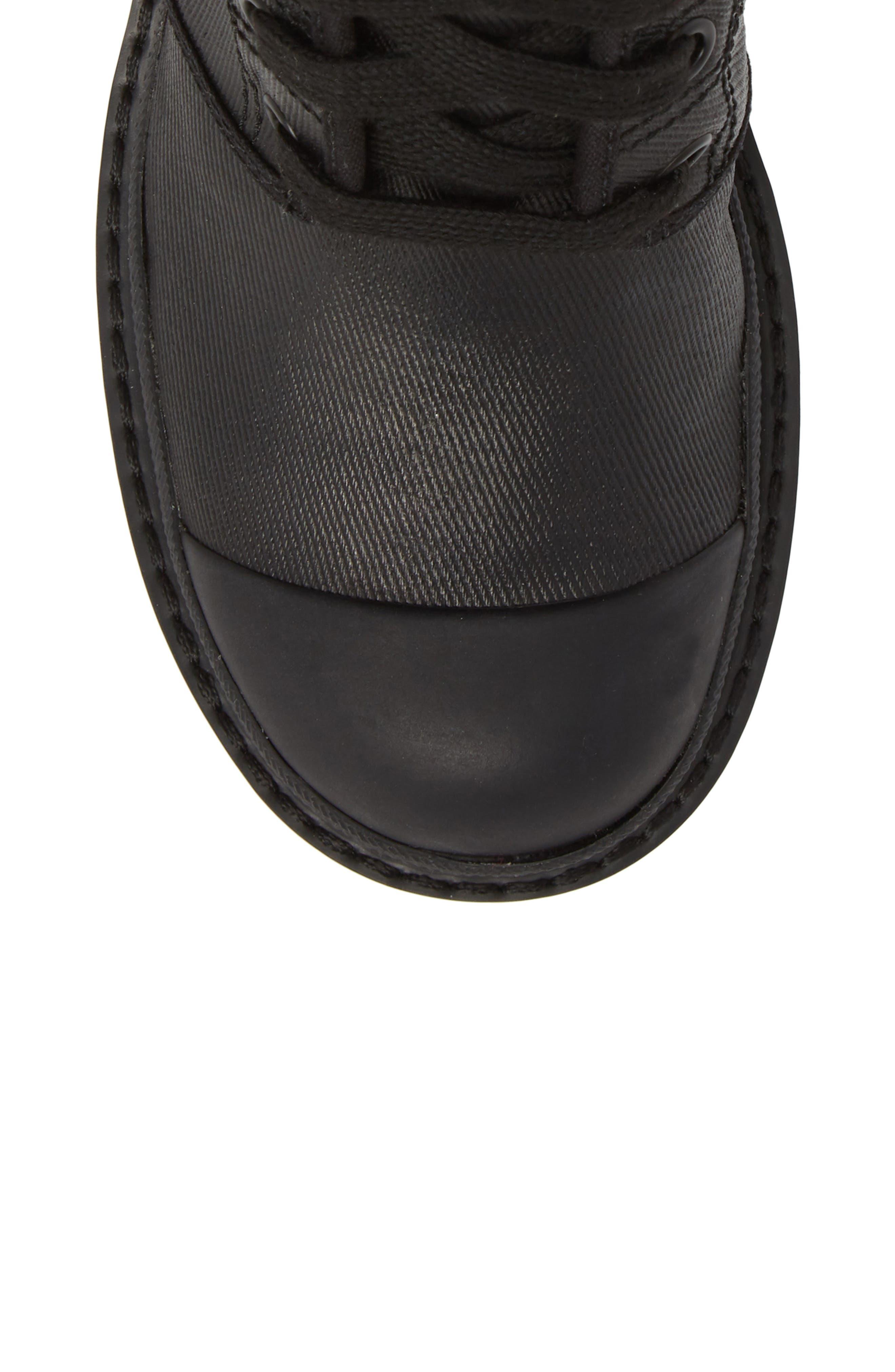 Bristol Lace-Up Boot,                             Alternate thumbnail 5, color,                             001