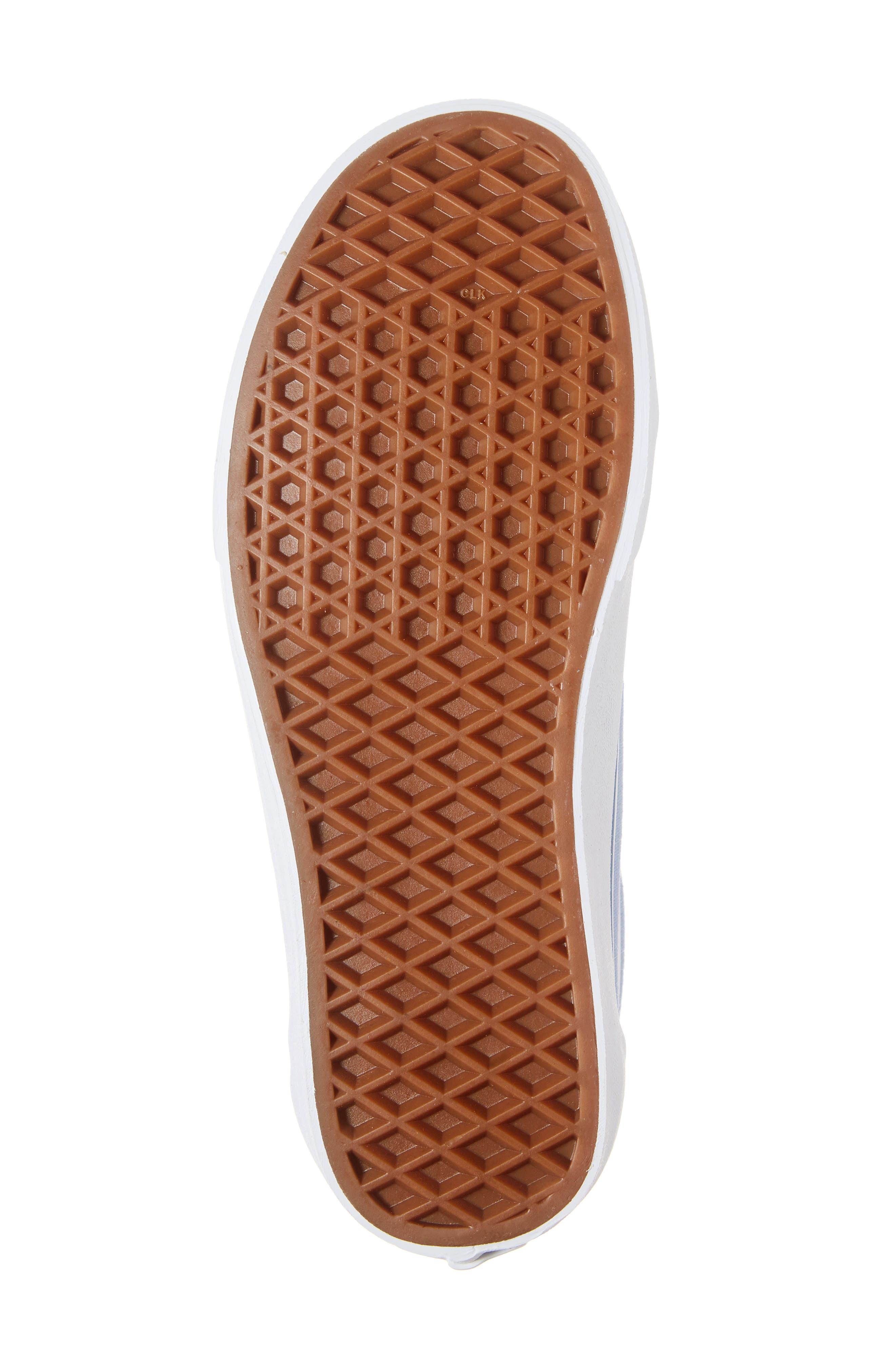 Old Skool Sneaker,                             Alternate thumbnail 6, color,                             FEDERAL BLUE/ LAVENDER LUSTER
