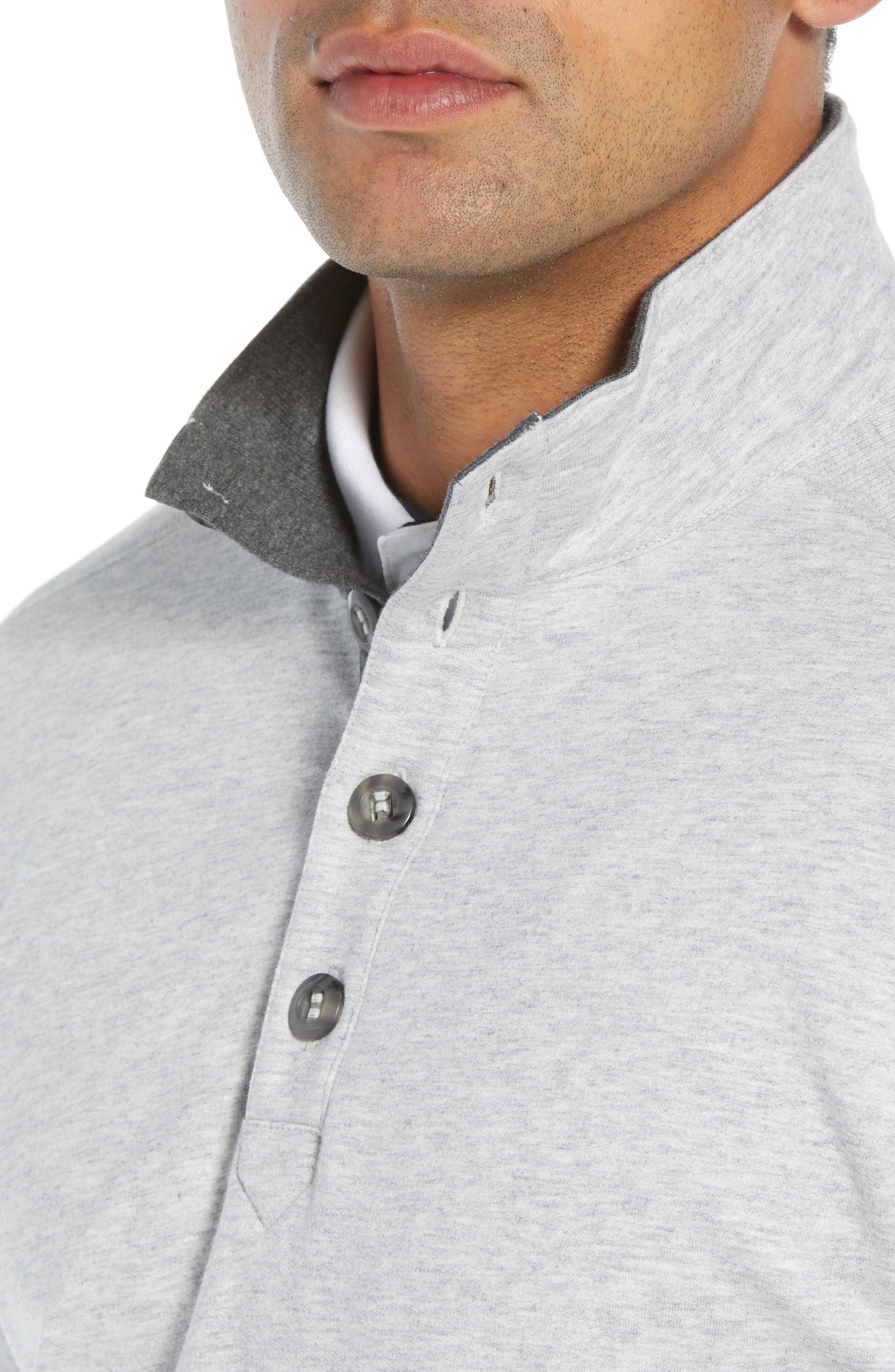 Clubhouse Pullover,                             Alternate thumbnail 4, color,                             GREY
