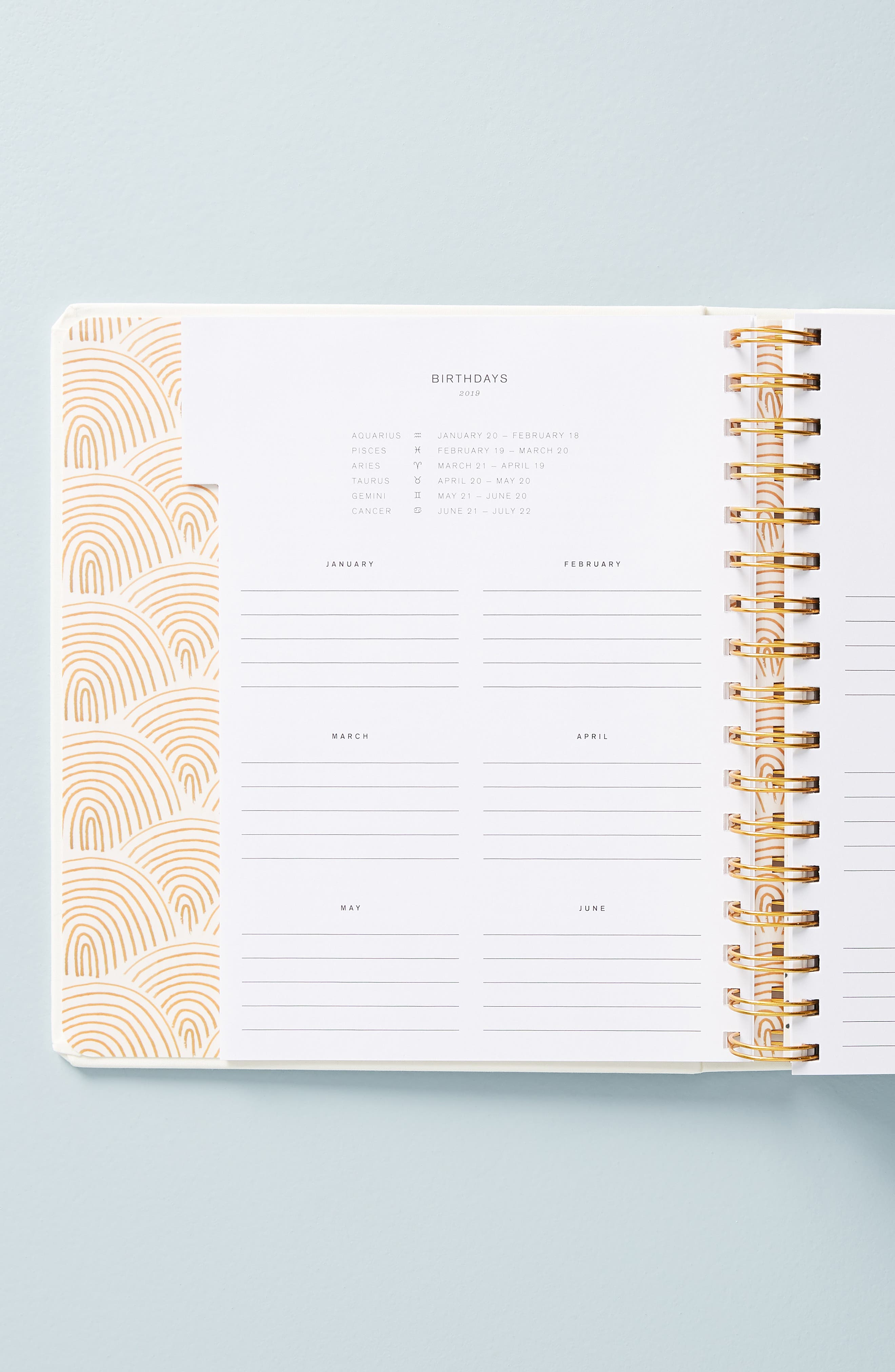 Ashley Mary 17-Month Hardcover Planner,                             Alternate thumbnail 8, color,                             MULTI