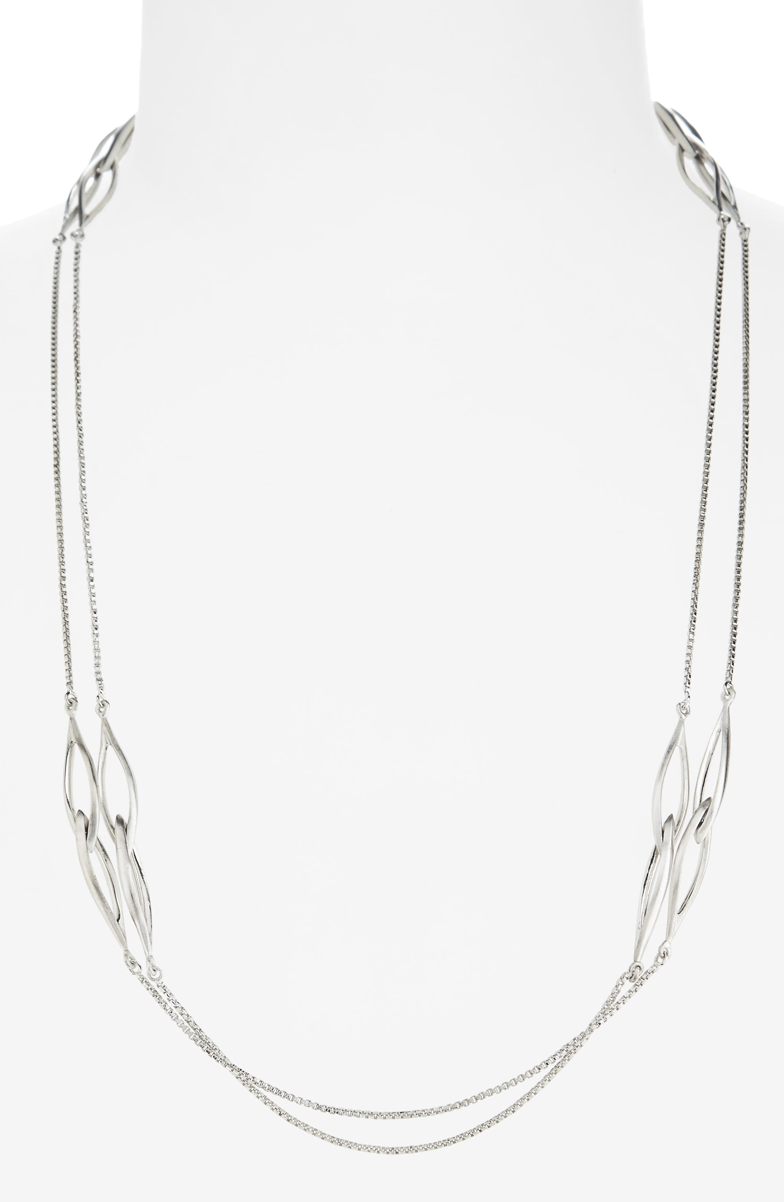 Entwined Station Necklace,                             Alternate thumbnail 2, color,                             040