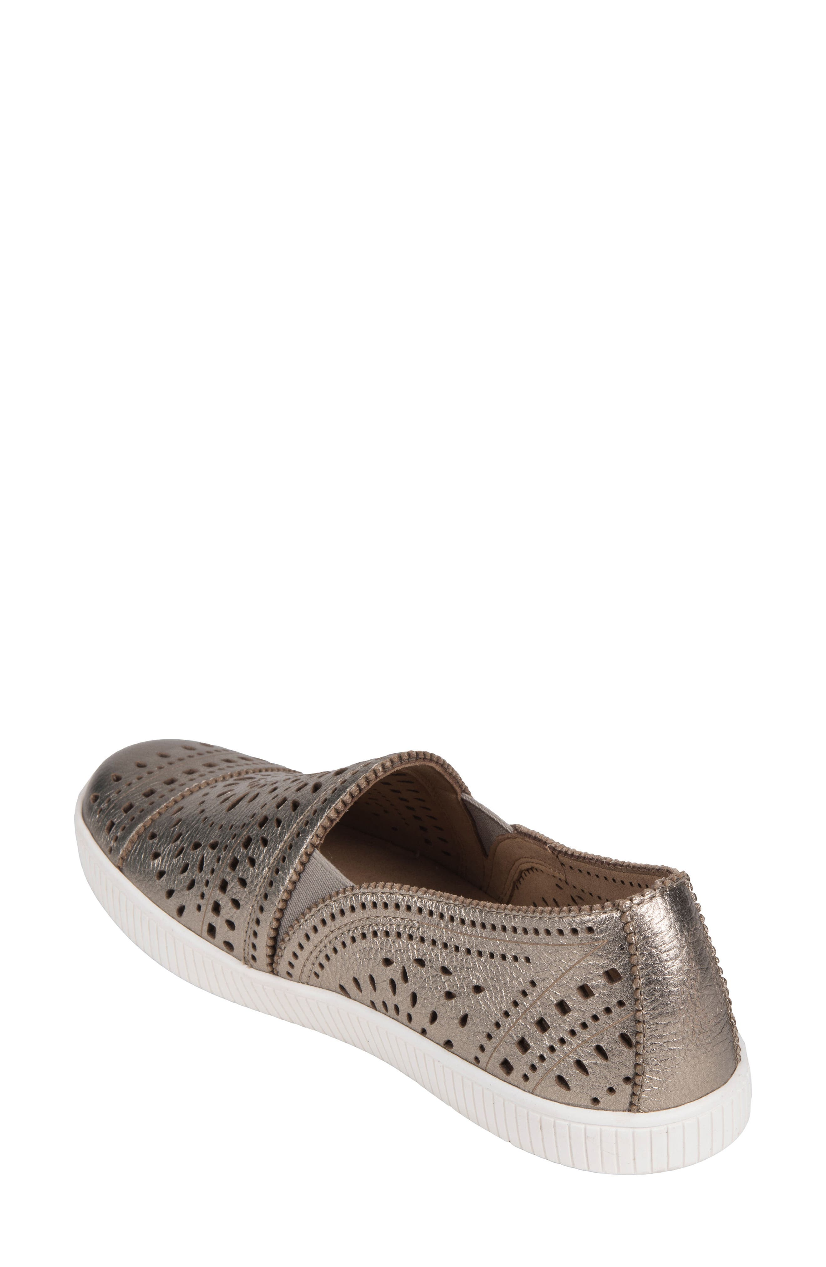 Tayberry Perforated Slip-On Sneaker,                             Alternate thumbnail 8, color,
