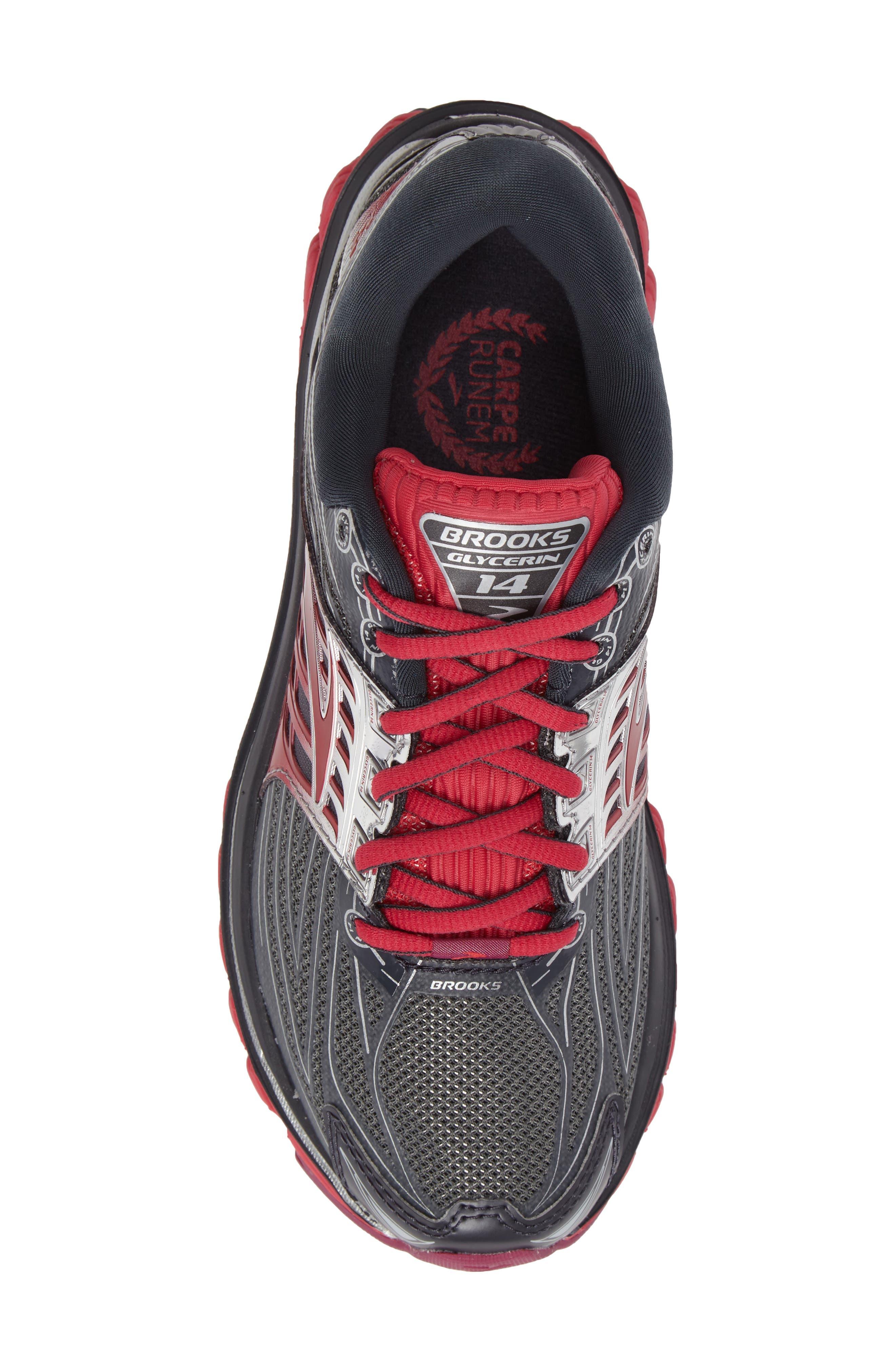 BROOKS,                             'Glycerin 14' Running Shoe,                             Alternate thumbnail 5, color,                             093