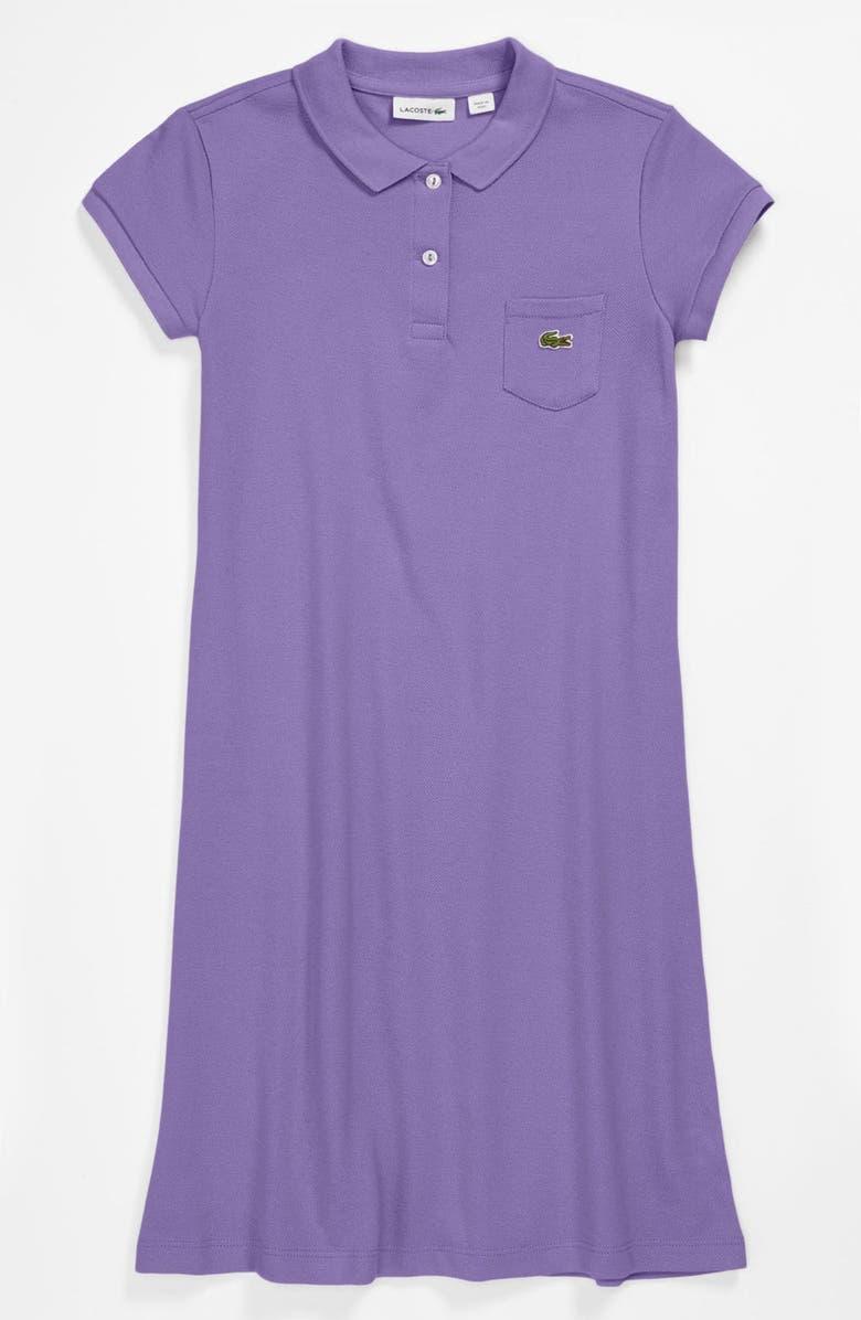 2ea5c83bad61a Lacoste Piqué Polo Dress (Big Girls)