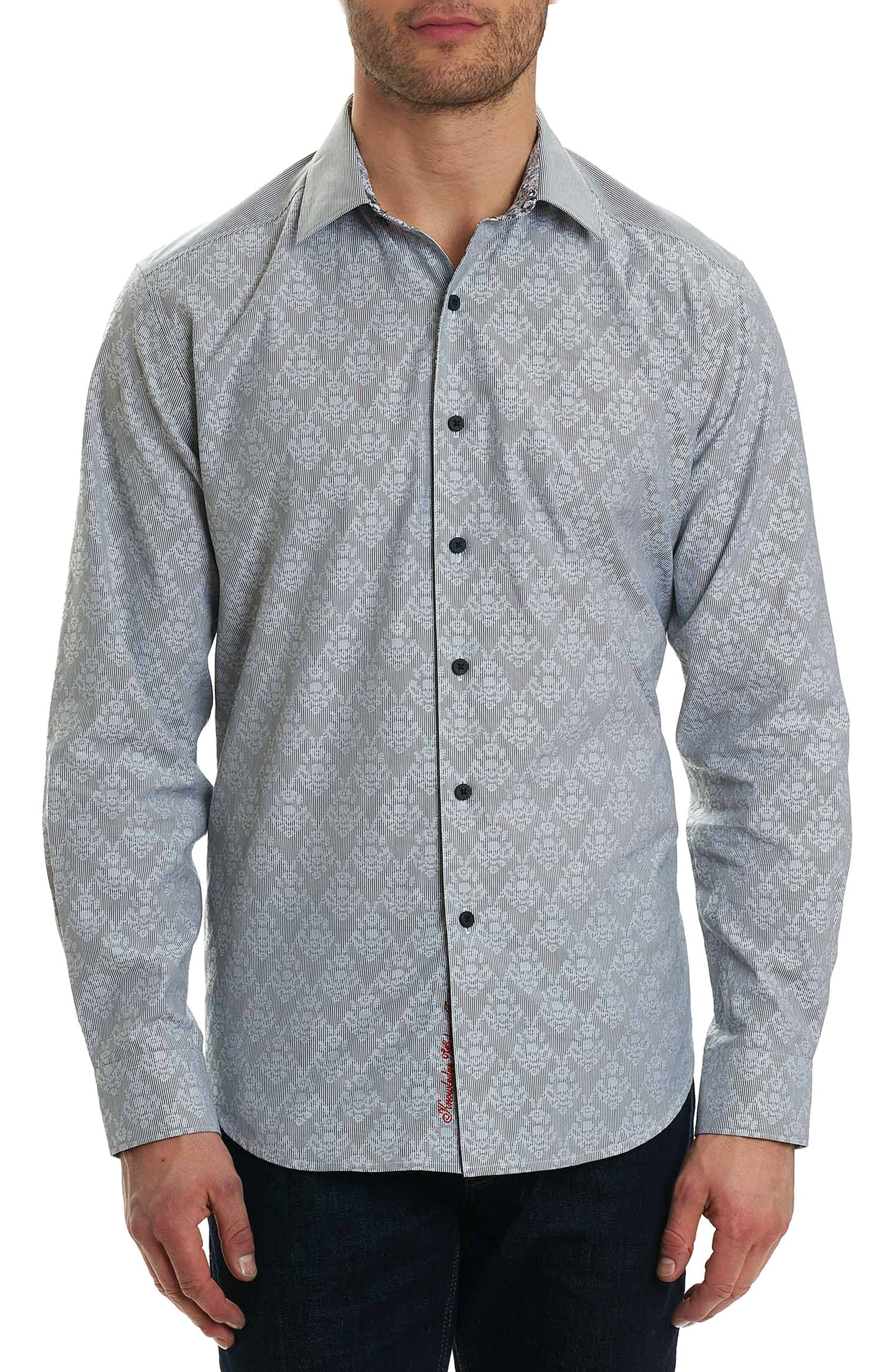 ROBERT GRAHAM,                             Dynamo Regular Fit Sport Shirt,                             Main thumbnail 1, color,                             063