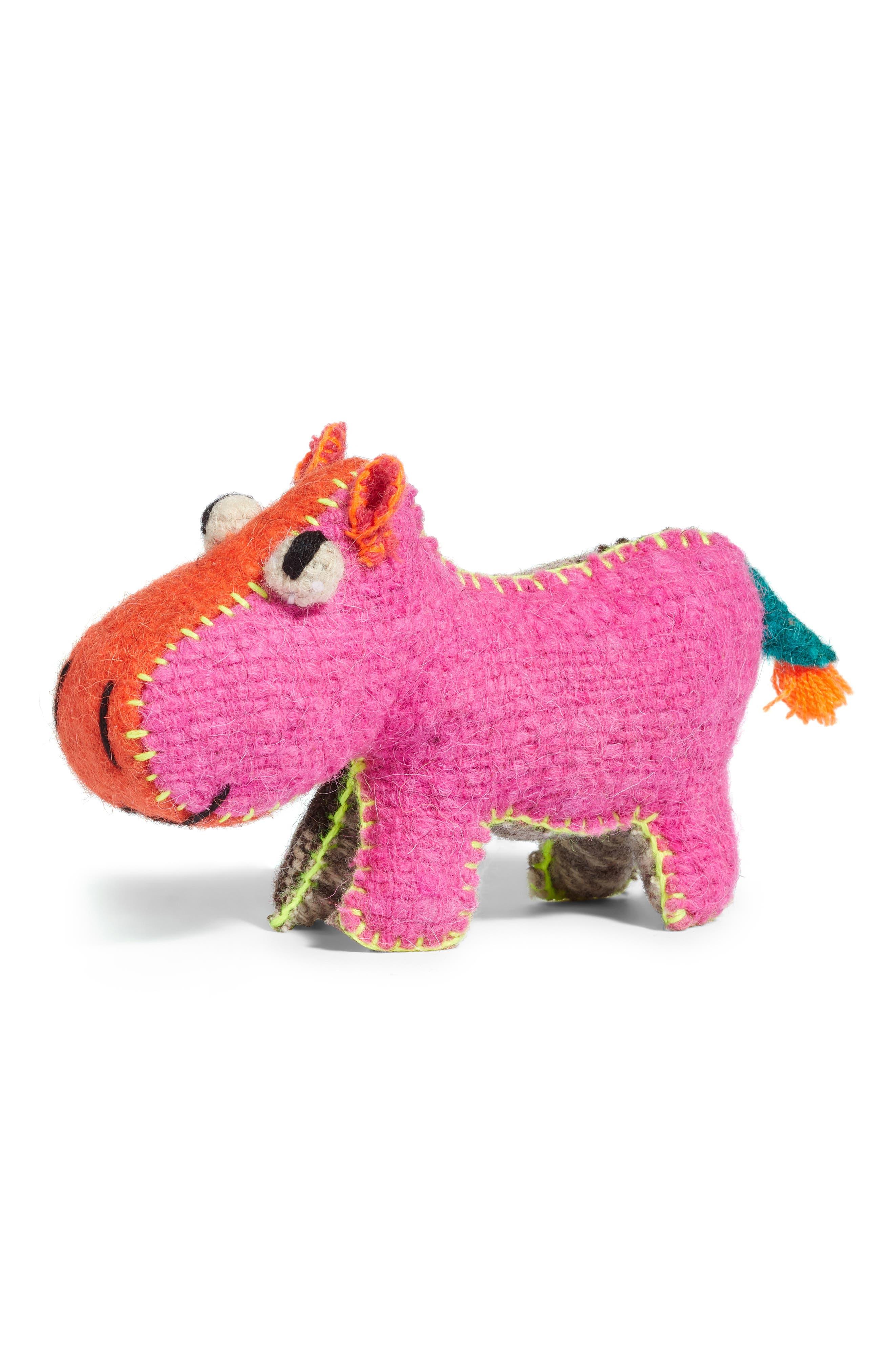 Hippo Stuffed Animal,                         Main,                         color,