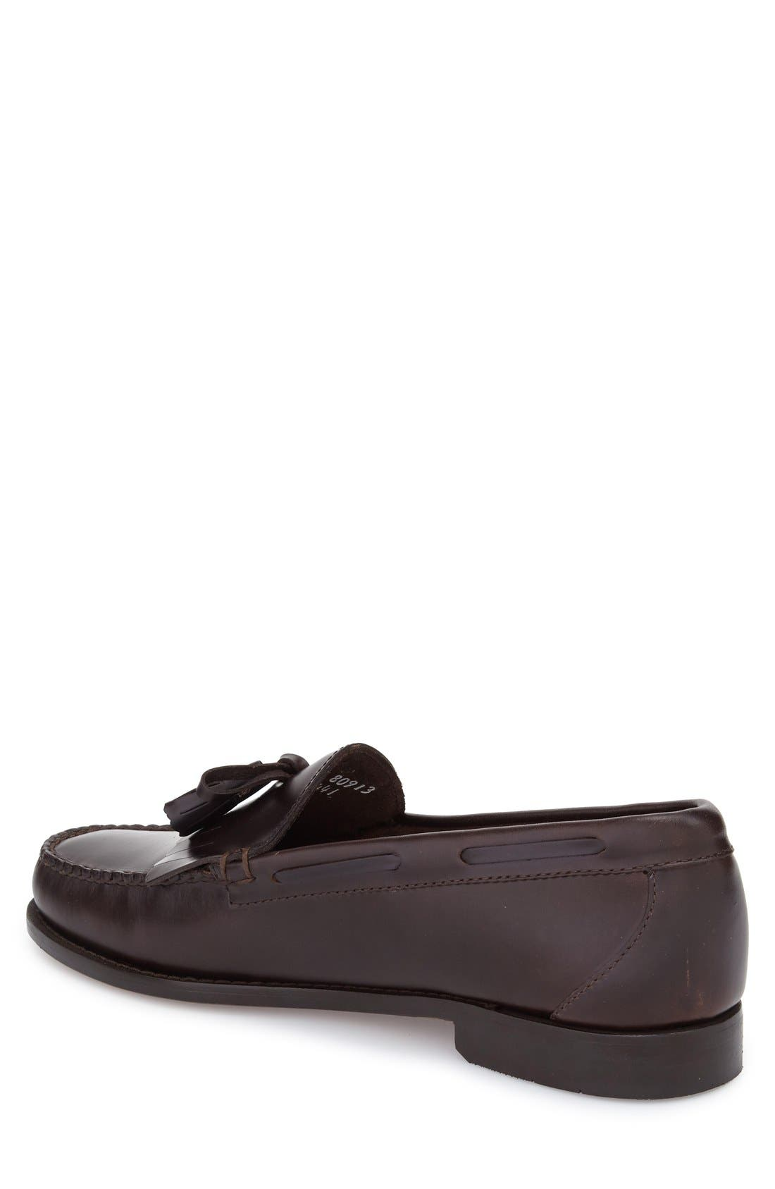 'Lawrence' Tassel Loafer,                             Alternate thumbnail 5, color,