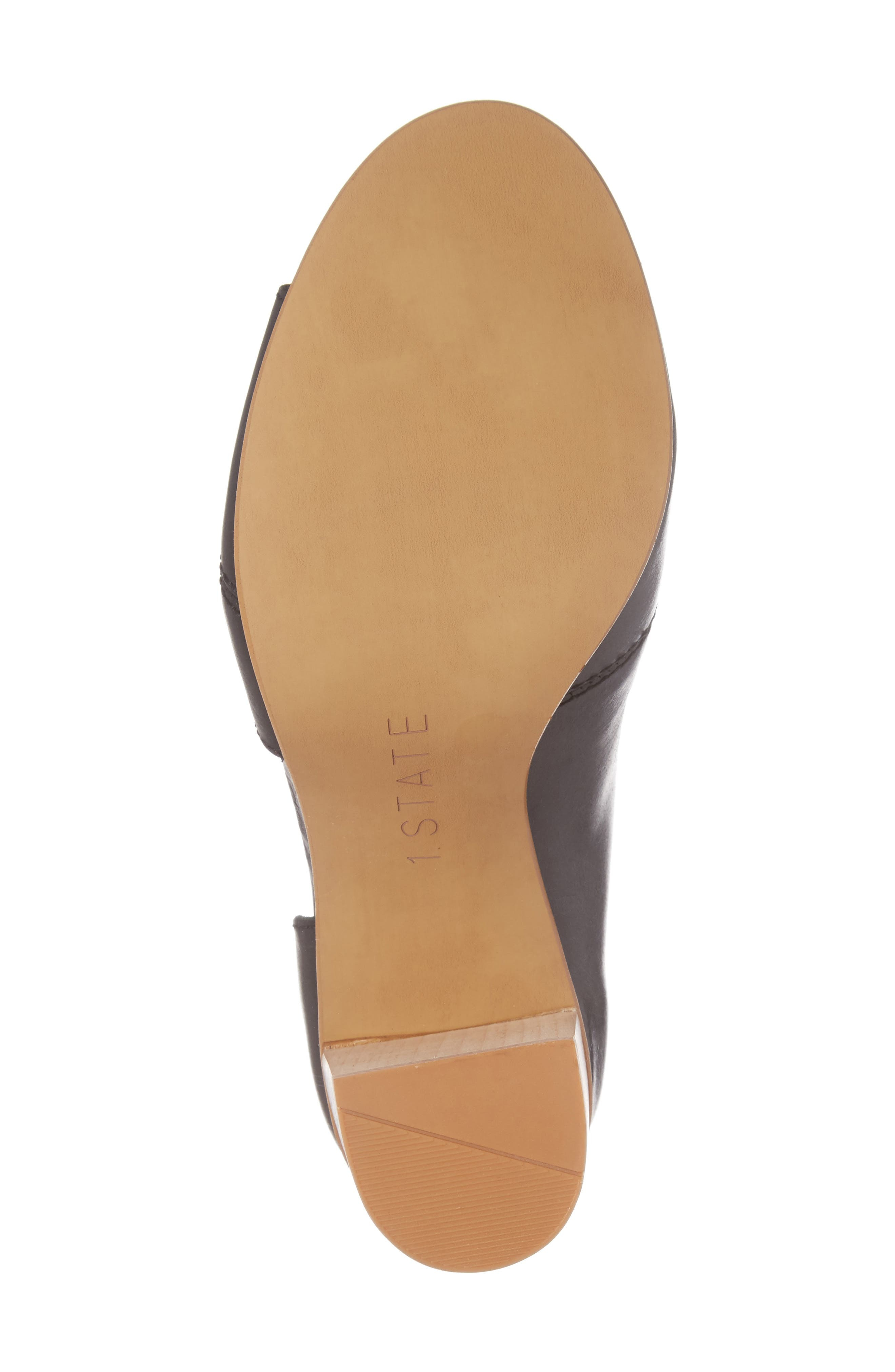Amble Asymmetrical Sandal,                             Alternate thumbnail 6, color,                             001