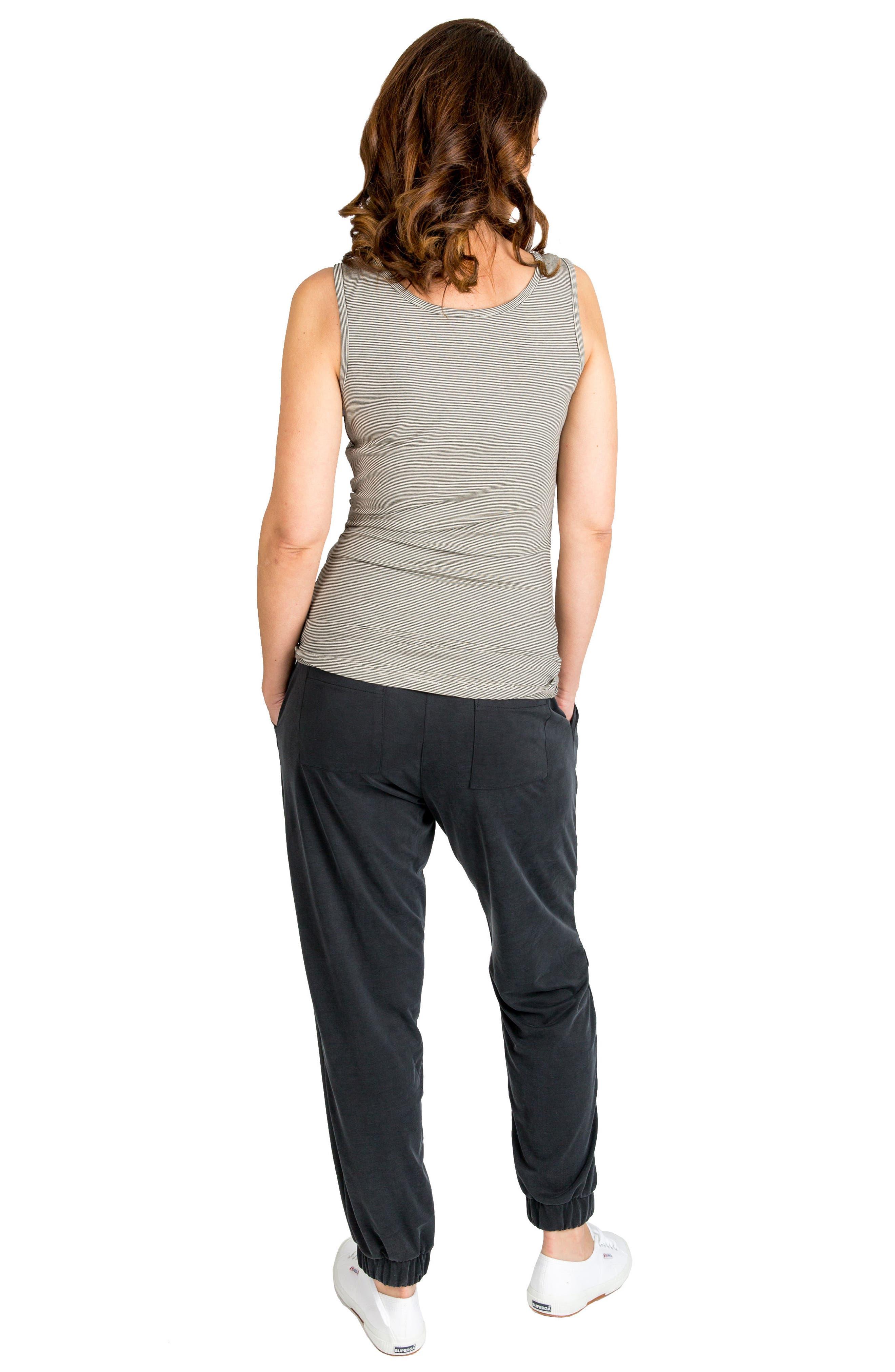 'Jenna' Maternity Pants,                             Alternate thumbnail 7, color,